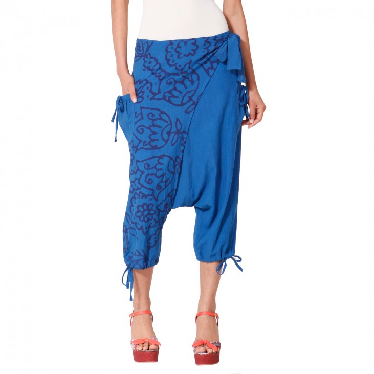 Desigual kalhoty Red Rep Blue