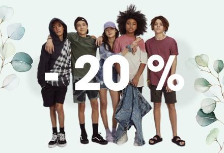 Mezinárodní den dětí si žádá slevu 20%!