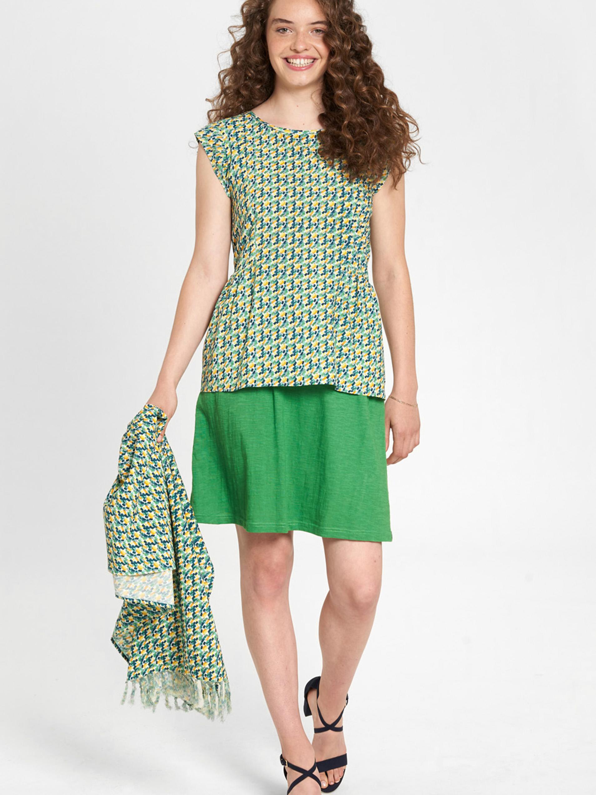 Tranquillo zelené halenka se vzorem