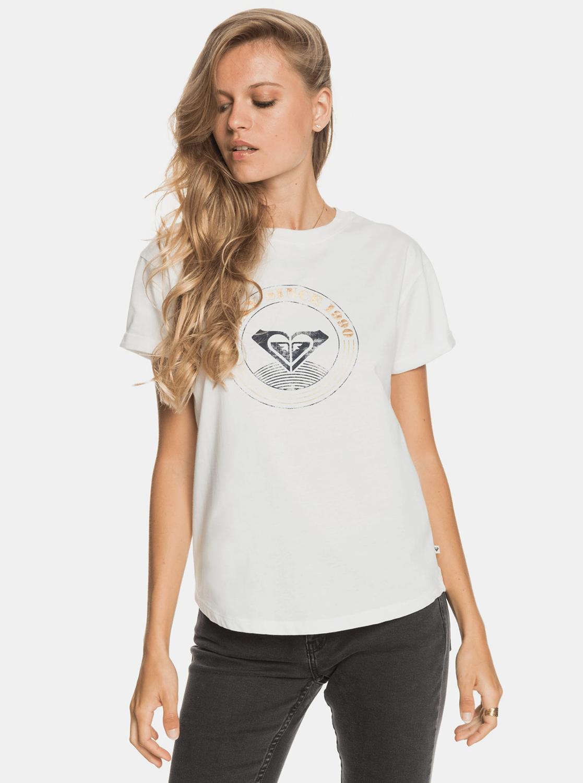 Roxy bílé tričko s potiskem