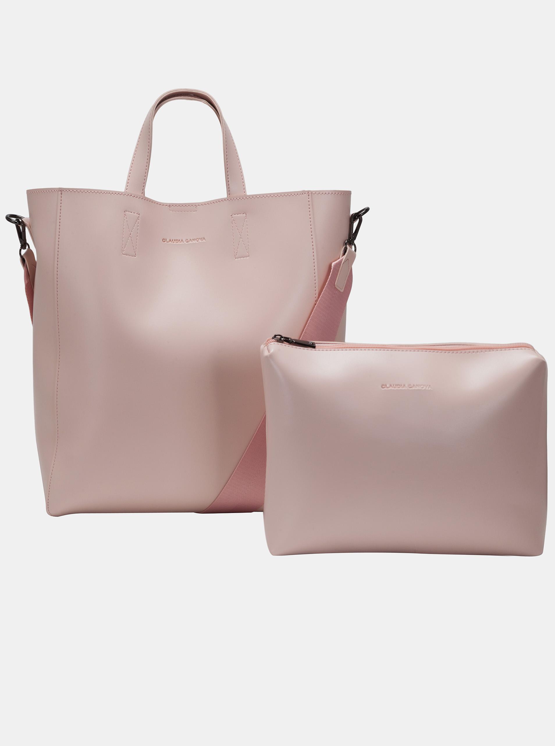 Claudia Canova růžová velká kabelka