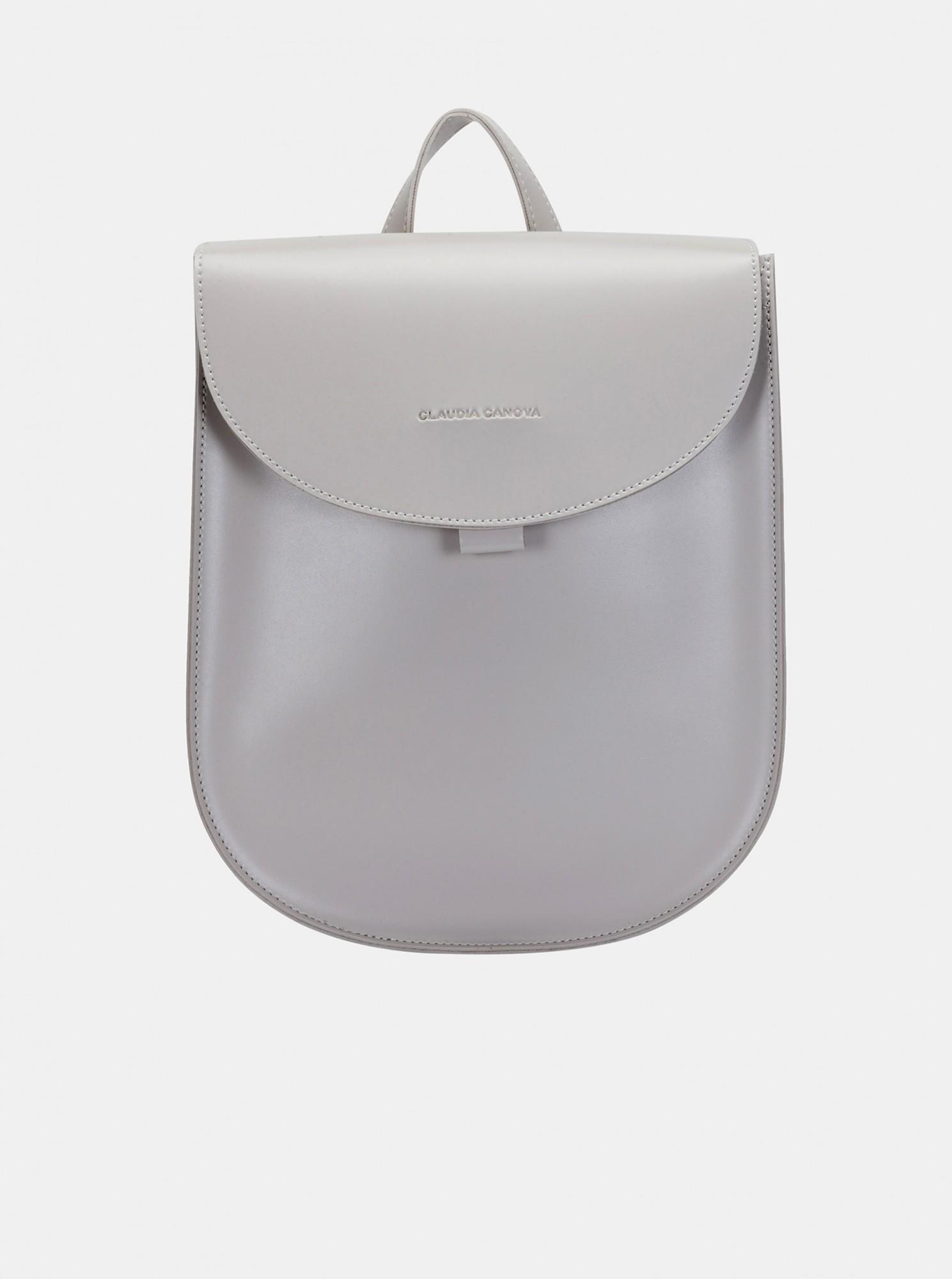 Claudia Canova šedý batoh
