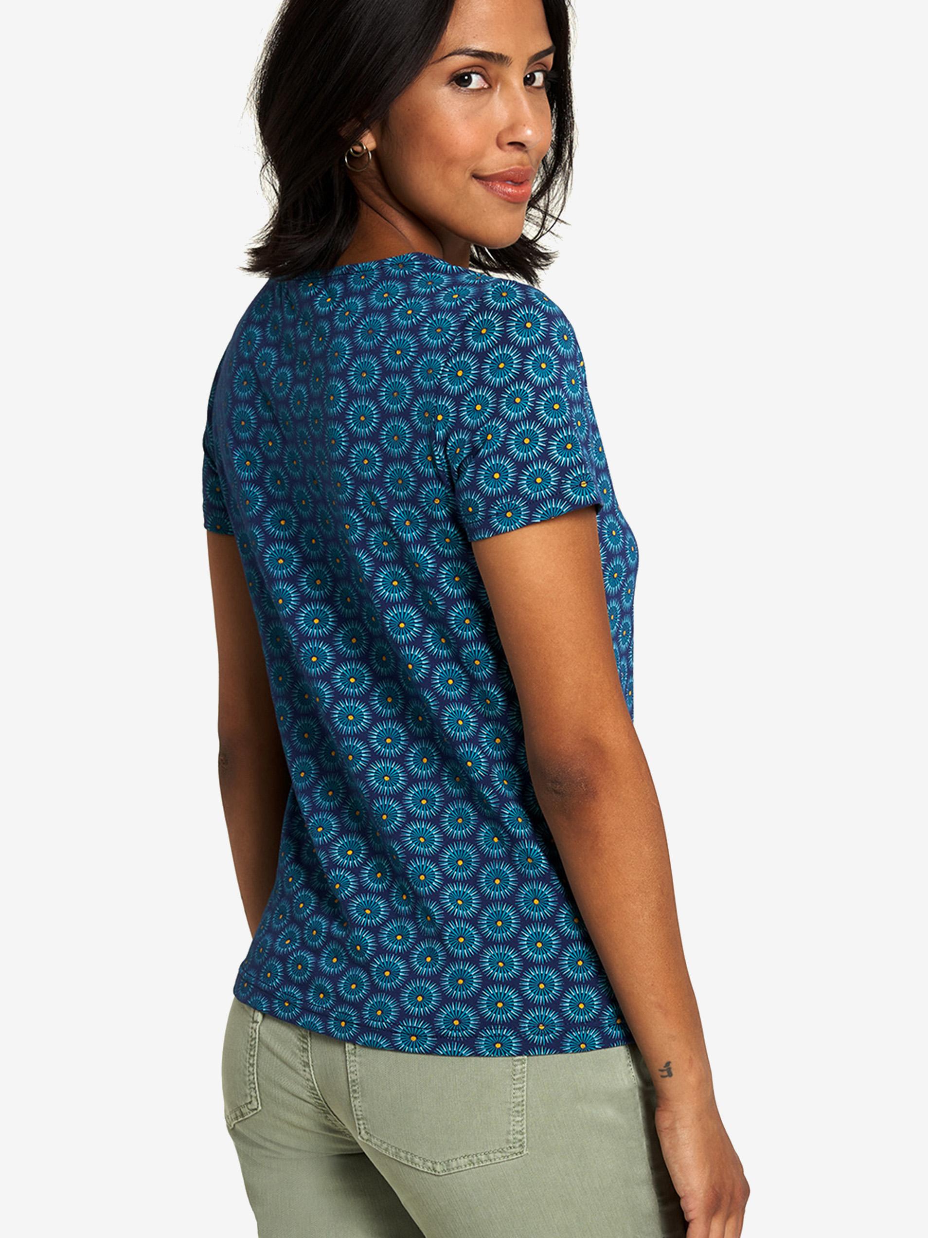 Tranquillo zelené tričko se vzorem