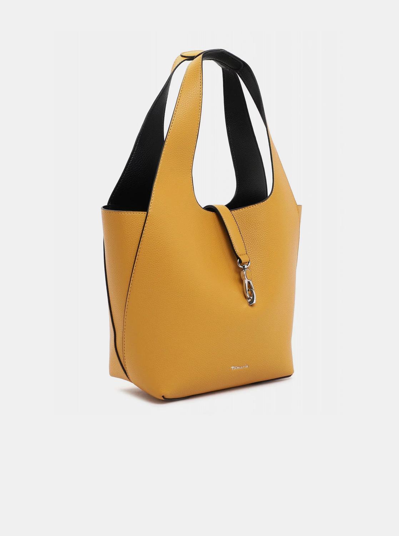 Tamaris žlutý oboustranný shopper s odnímatelným pouzdrem