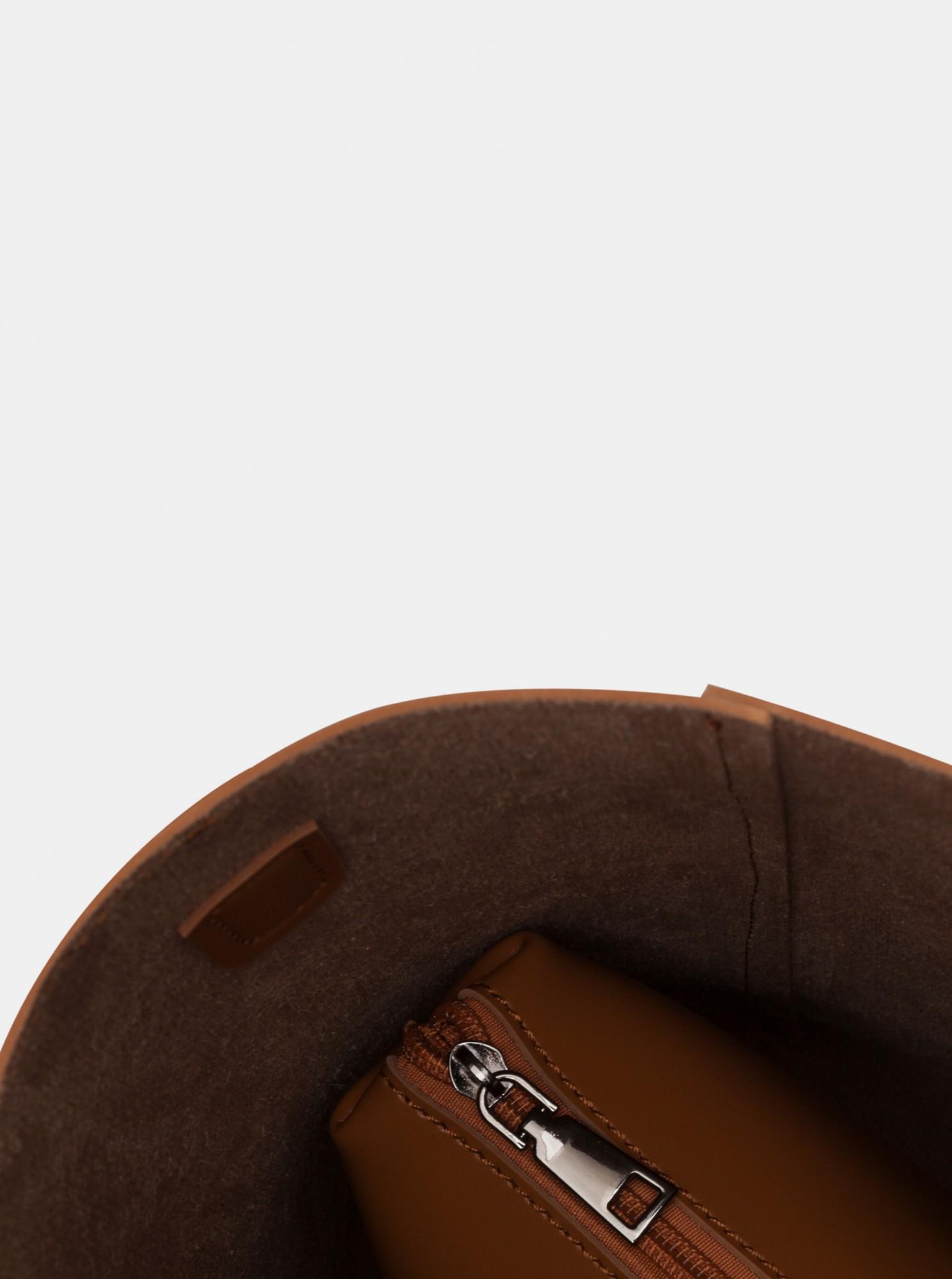 Claudia Canova hnědá velká kabelka