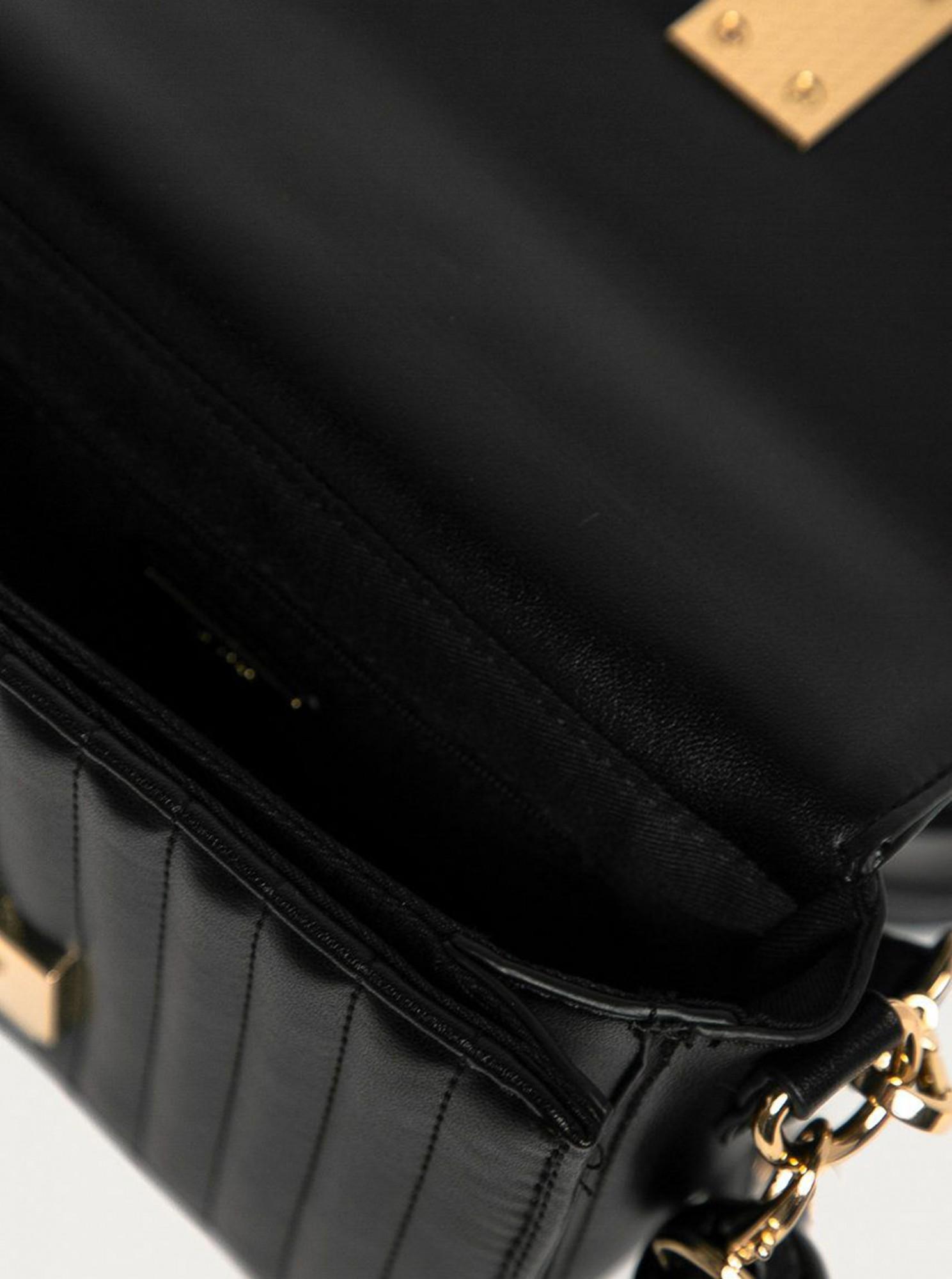 ALDO černá crossbody kabelka Erigossa
