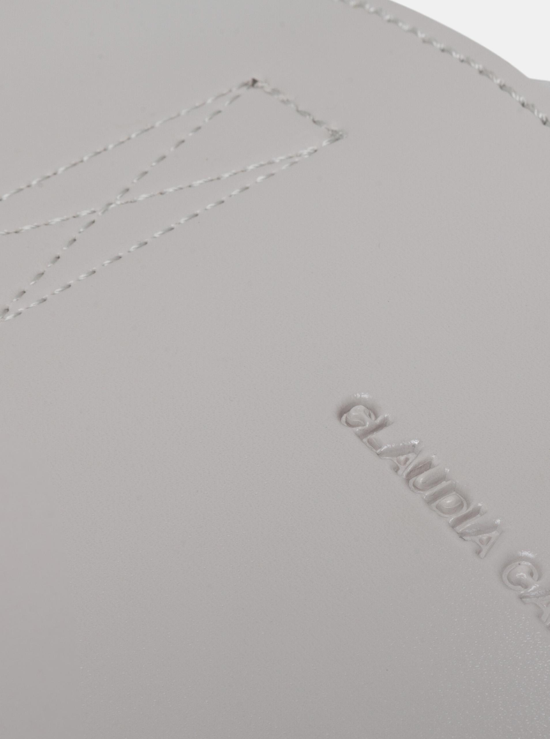 Claudia Canova šedá velká kabelka