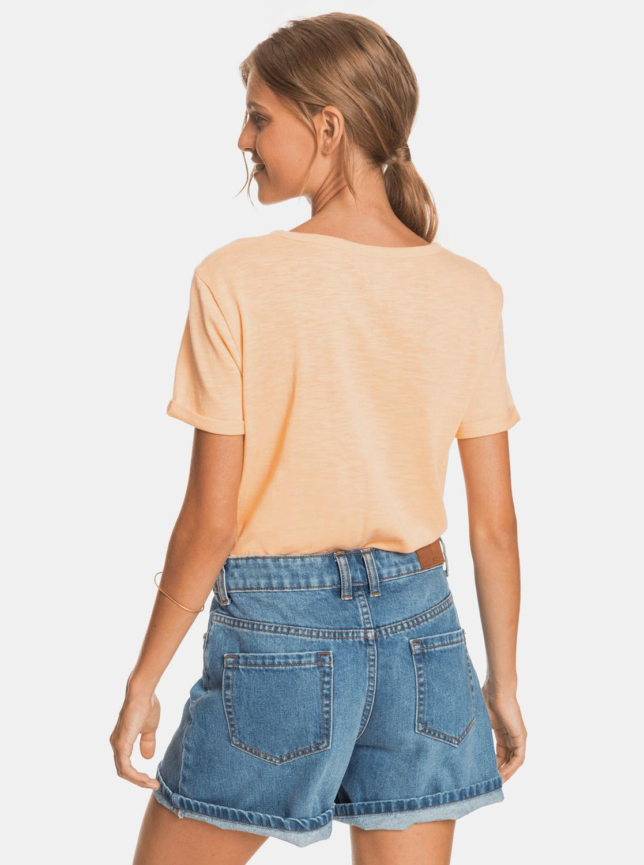 Roxy oranžové tričko s potiskem