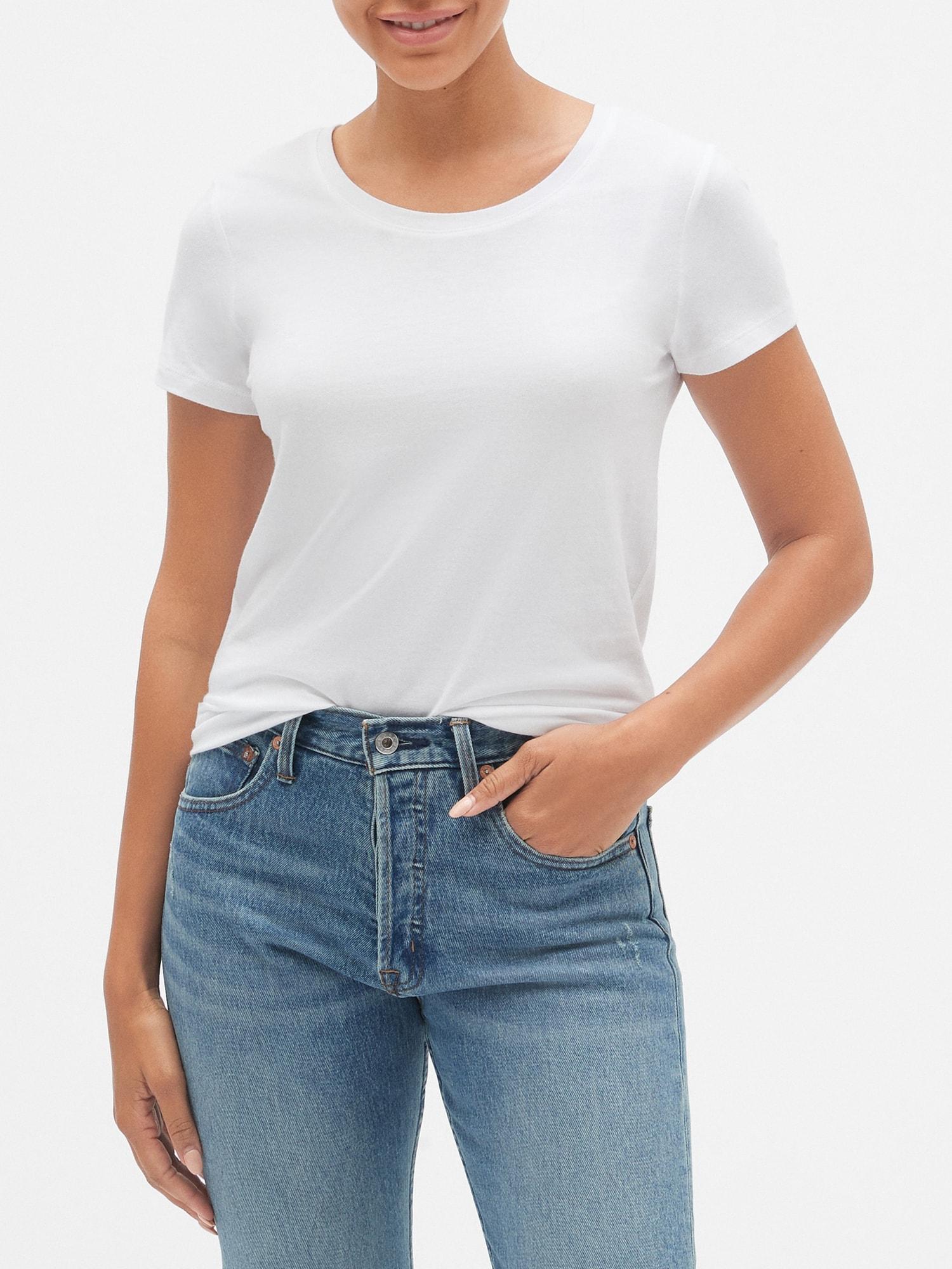 GAP bílé tričko