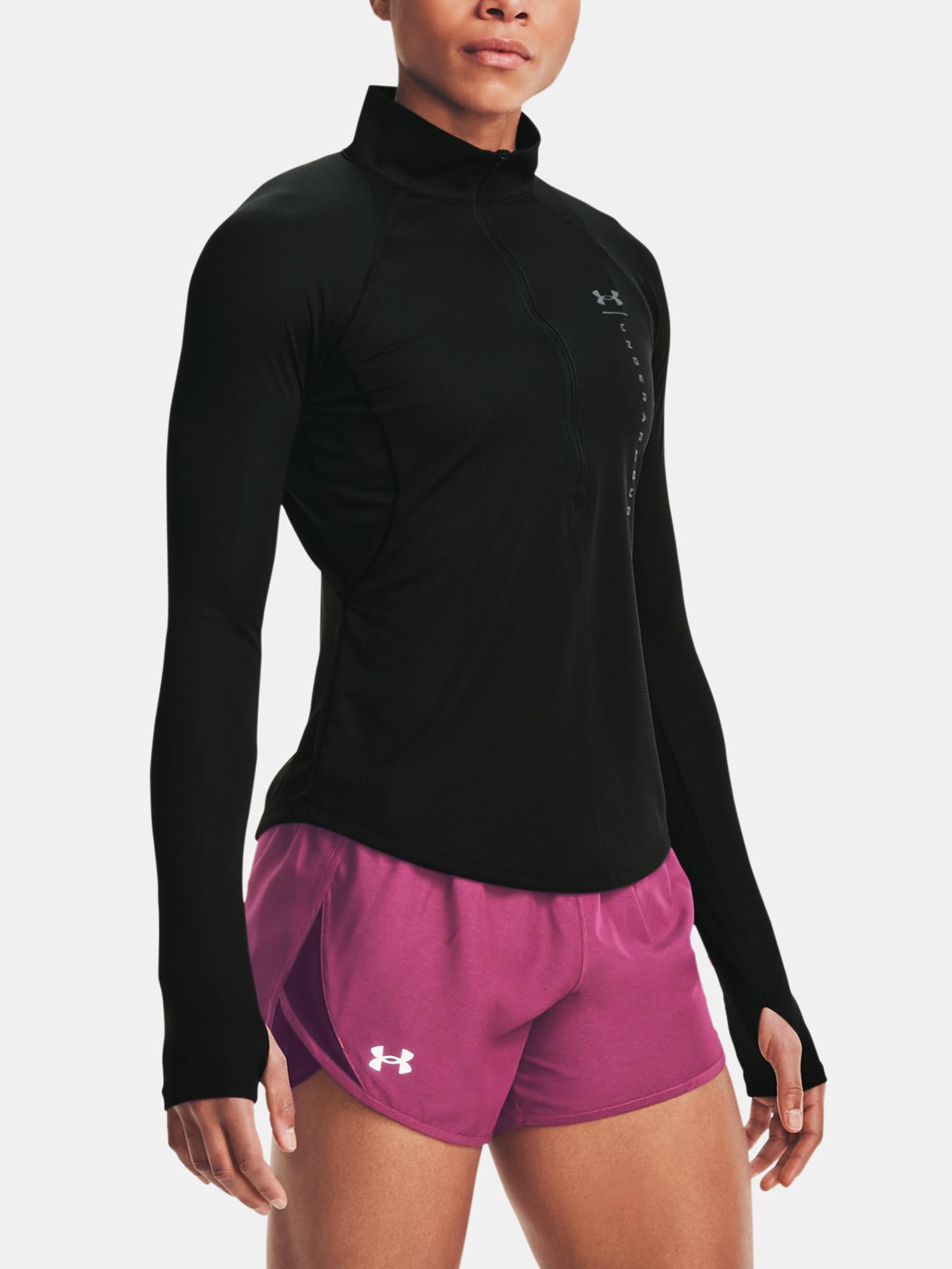 Under Armour černé dámské tričko UA Speed Stride Attitude HZ