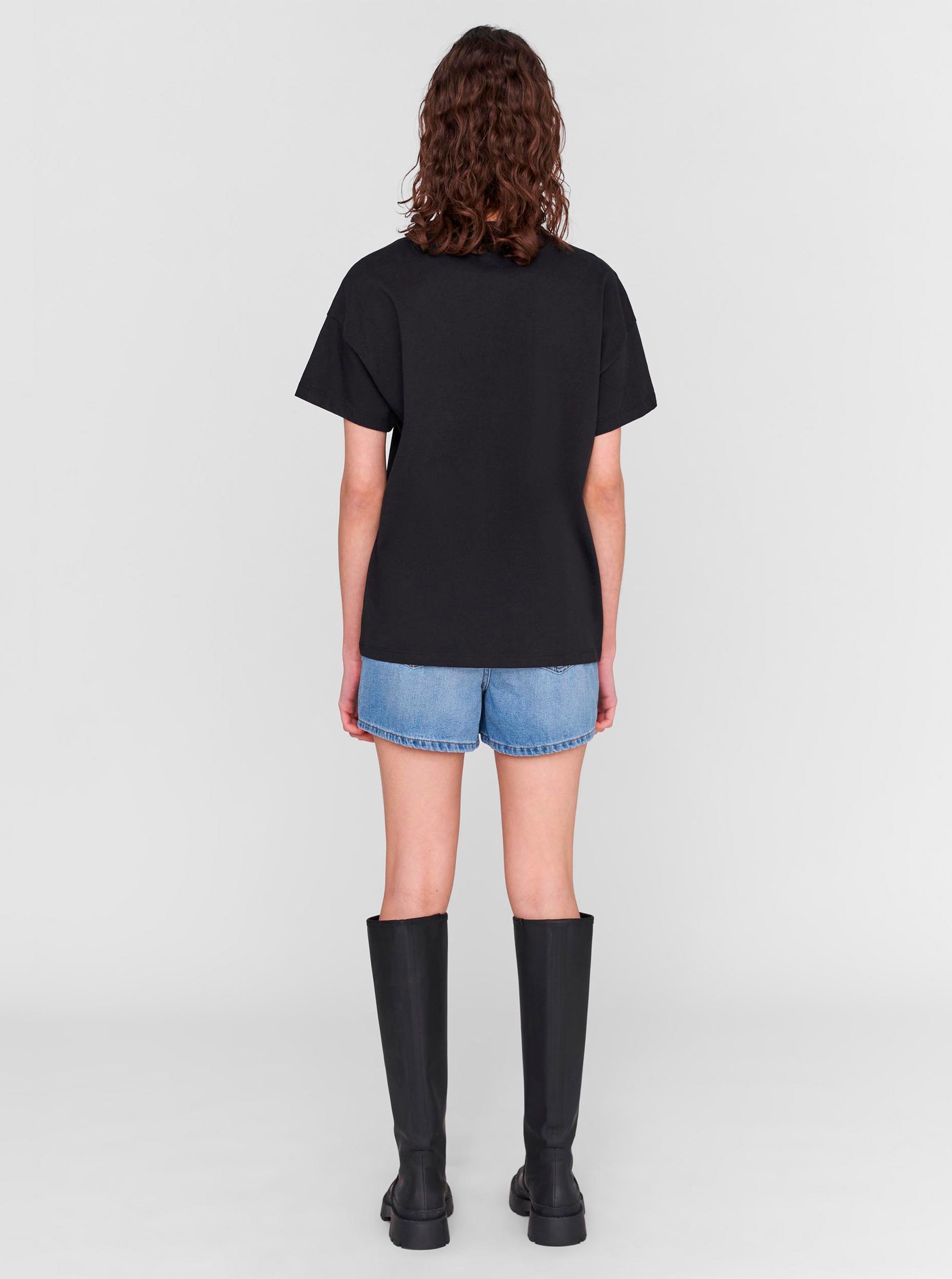 Noisy May černé dámské tričko Wendy