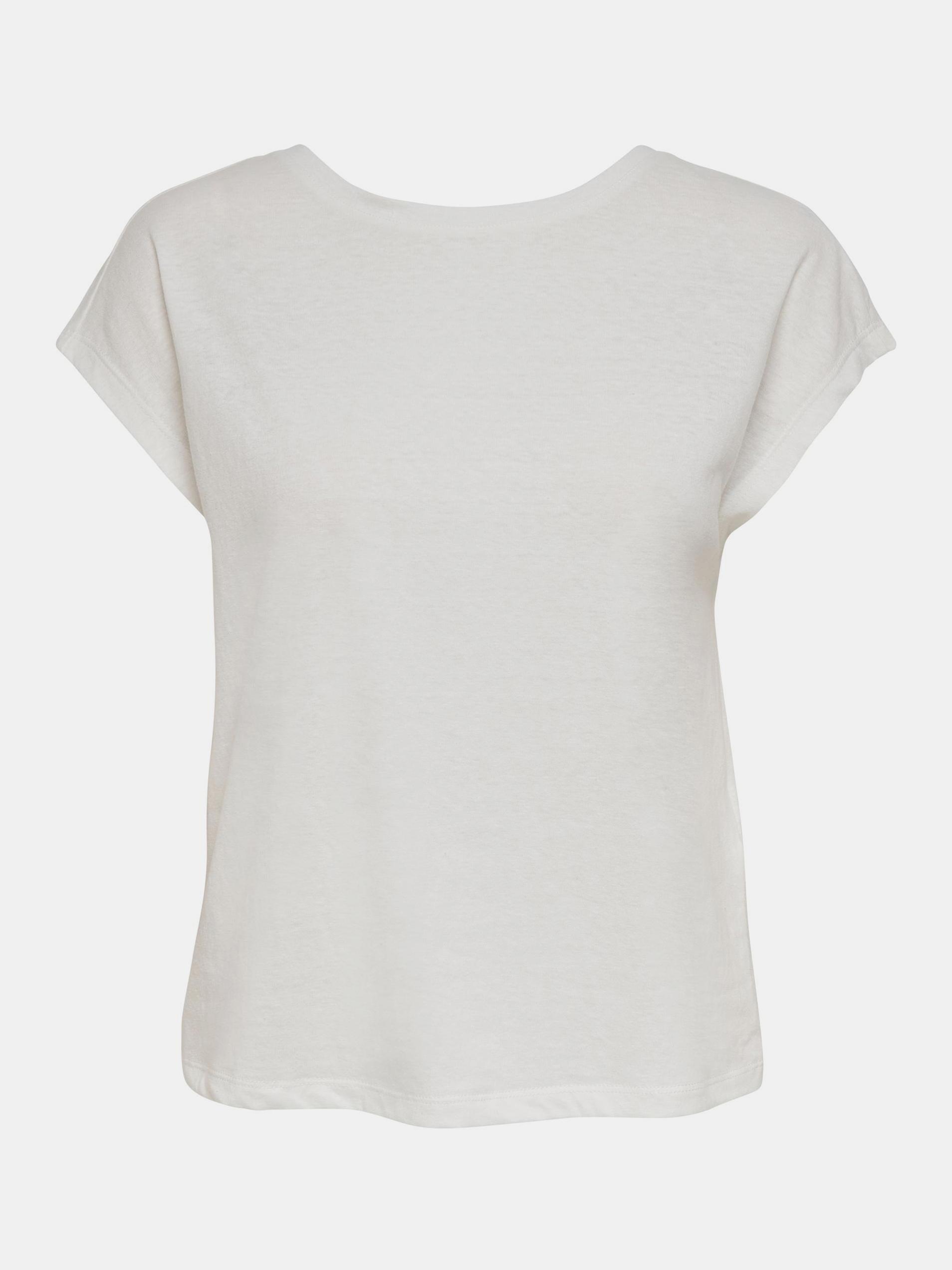 Only bílé dámské tričko Ama