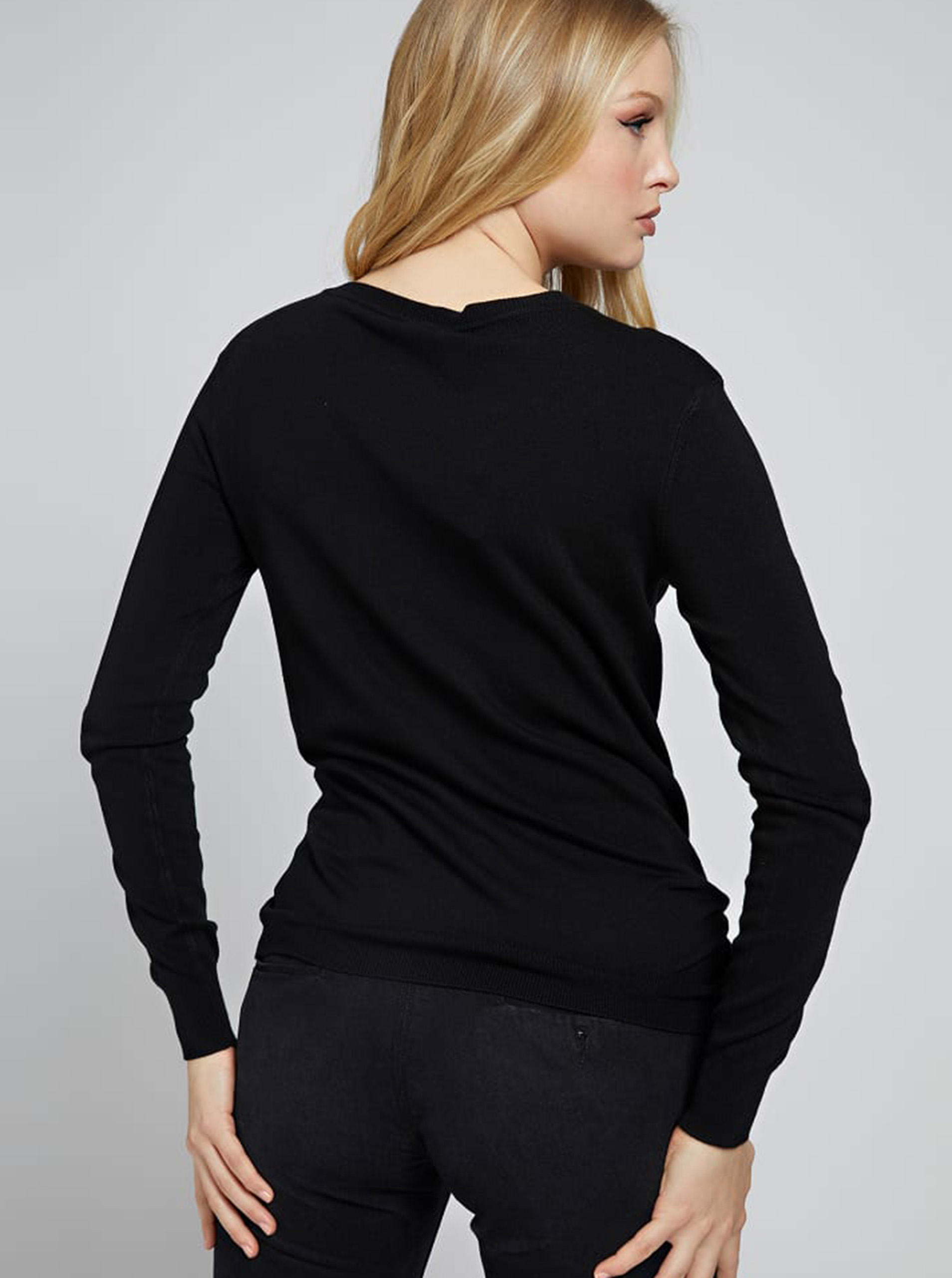Guess černé svetr Doriane