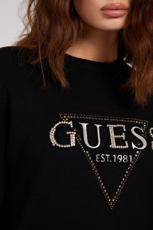 Guess černé svetr Beatrice