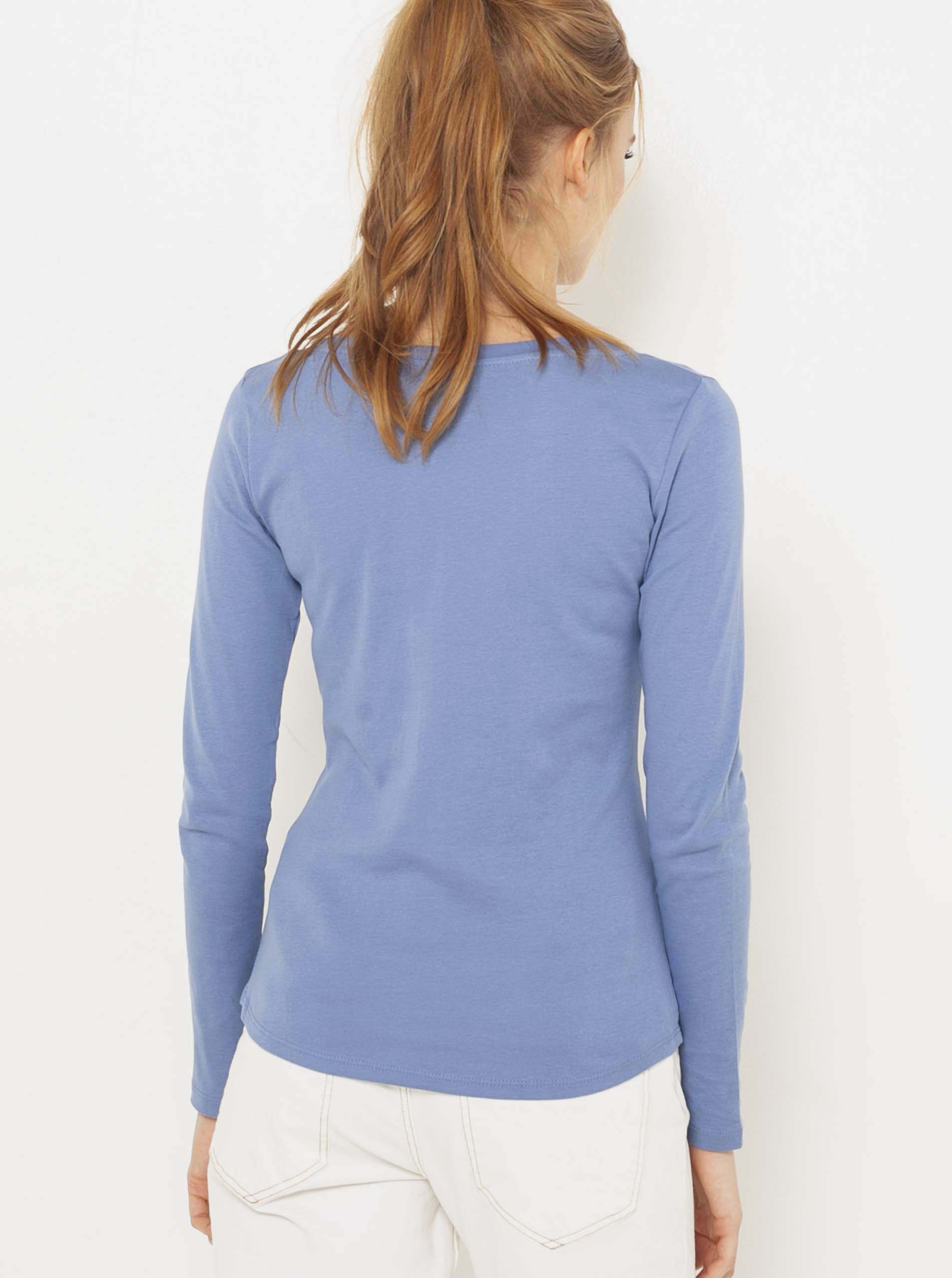 CAMAIEU modré tričko