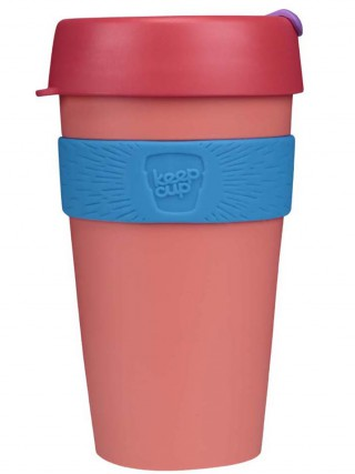 KeepCup oranžový hrnek Tea Rose Large