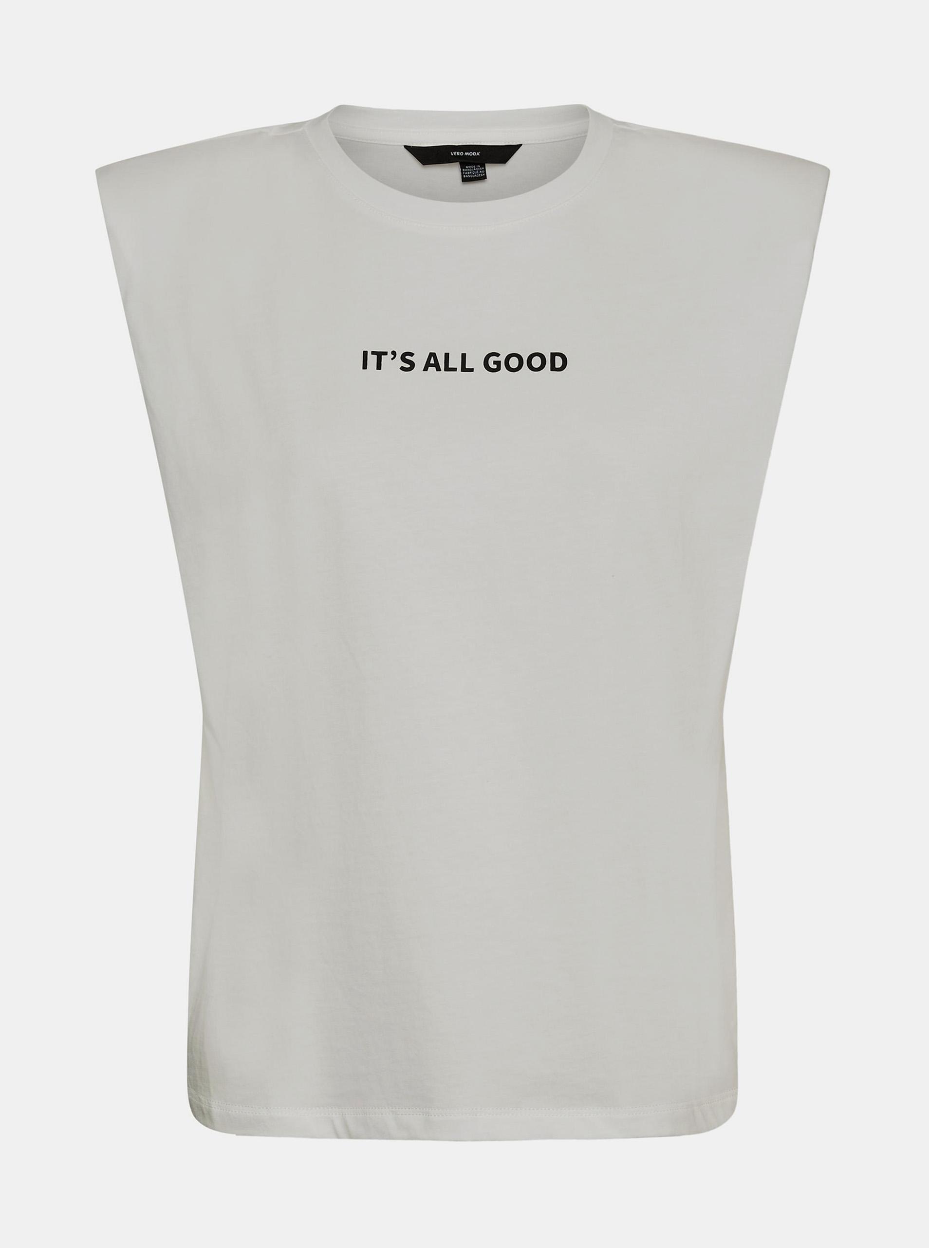 Vero Moda bílé tričko Hollie