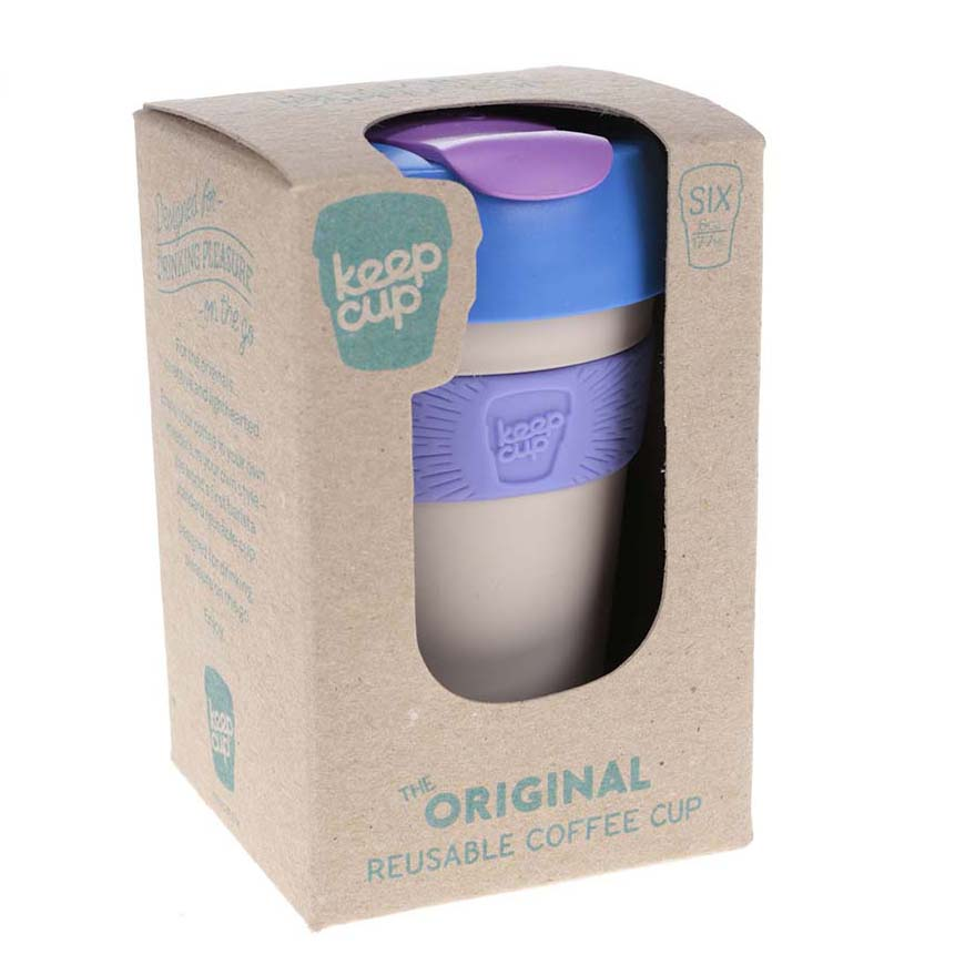 KeepCup šedý hrnek Vanilla SiX Ounce