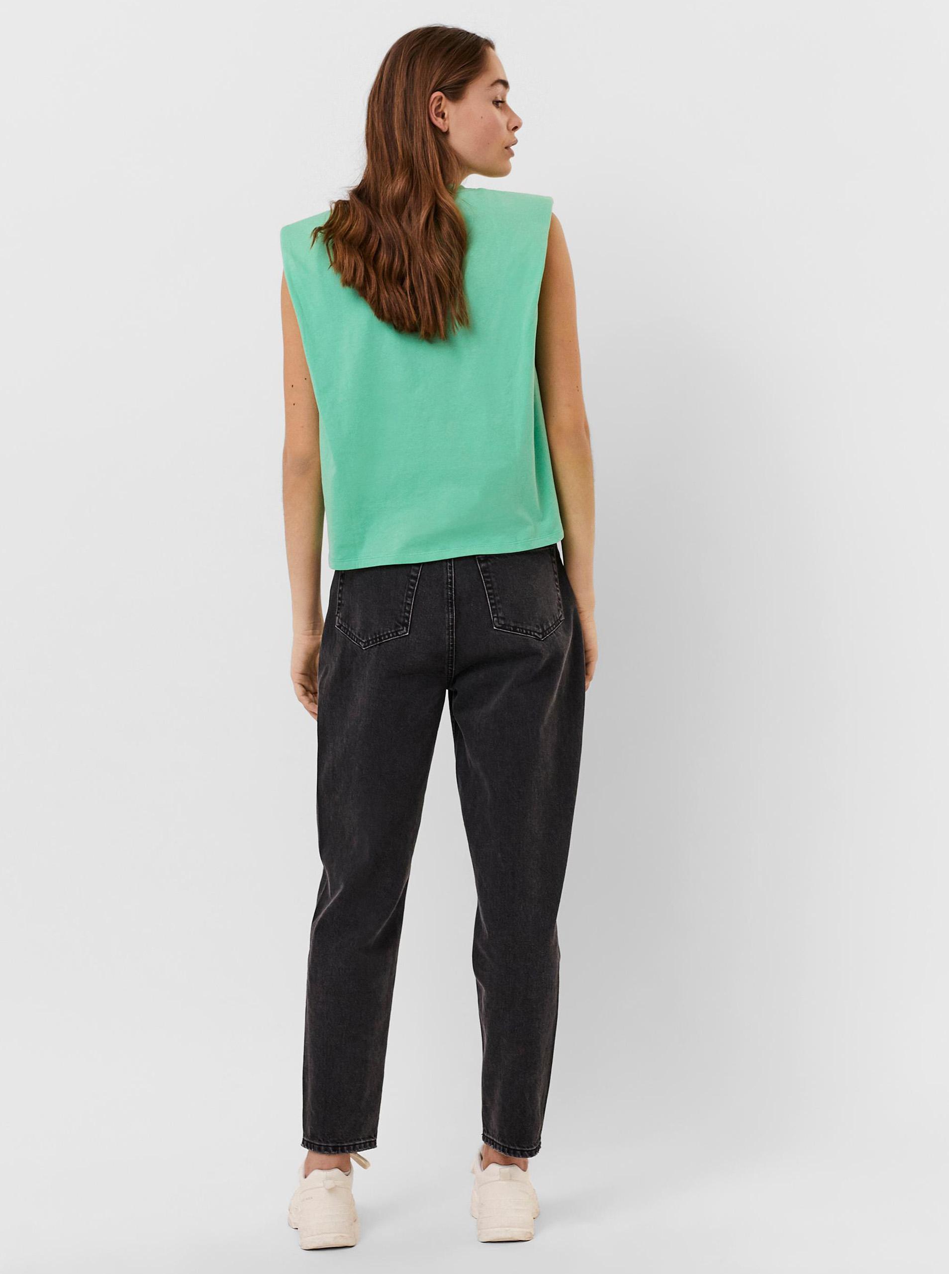 Vero Moda zelené tričko Hollie