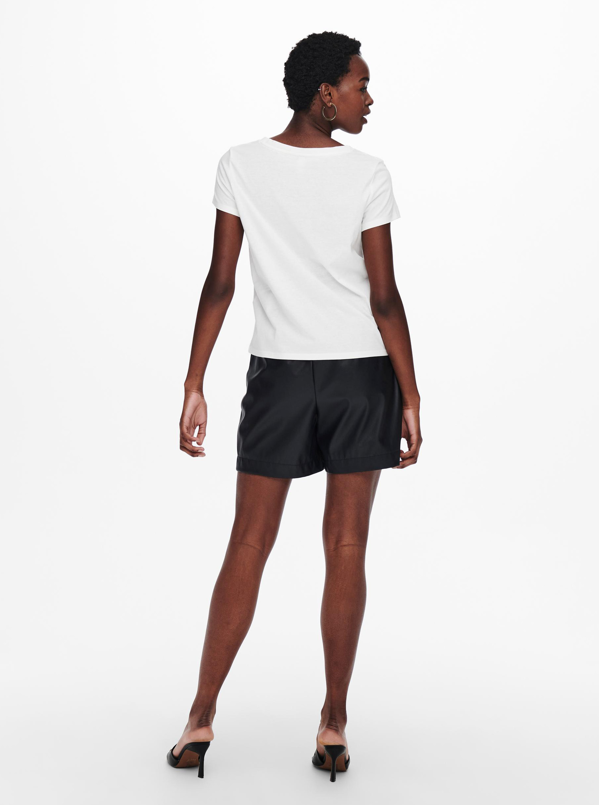 Jacqueline de Yong bílé tričko Dina