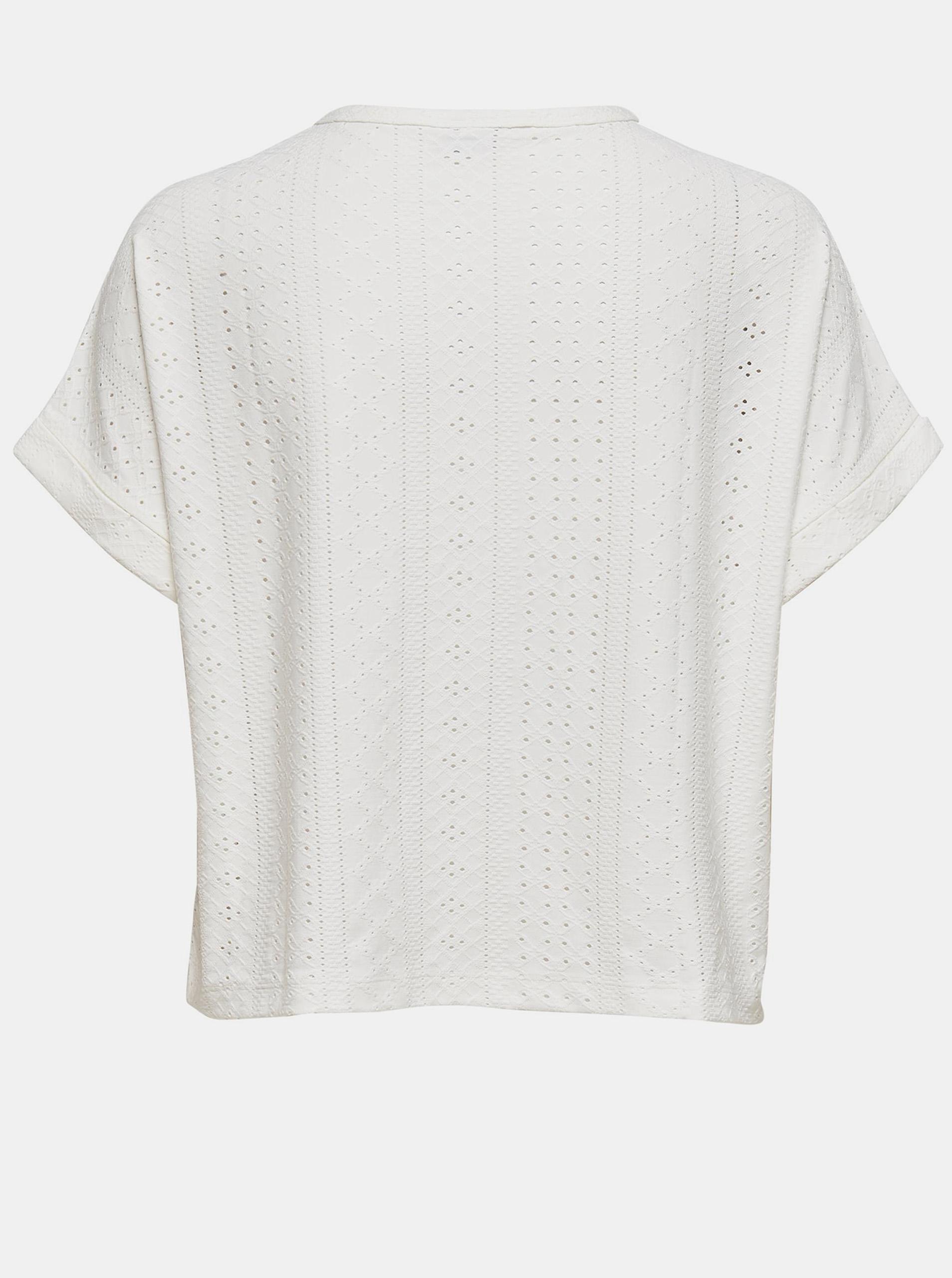 Jacqueline de Yong bílé tričko Fatinka