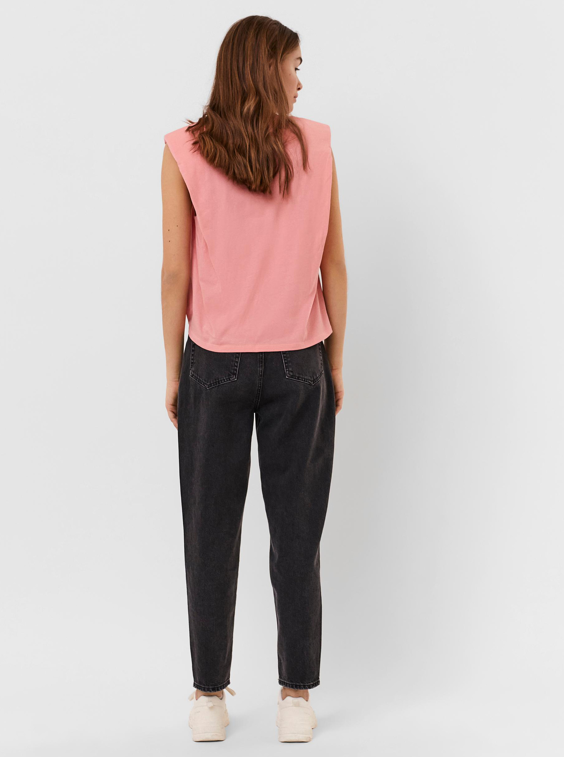 Vero Moda růžové tričko Hollie