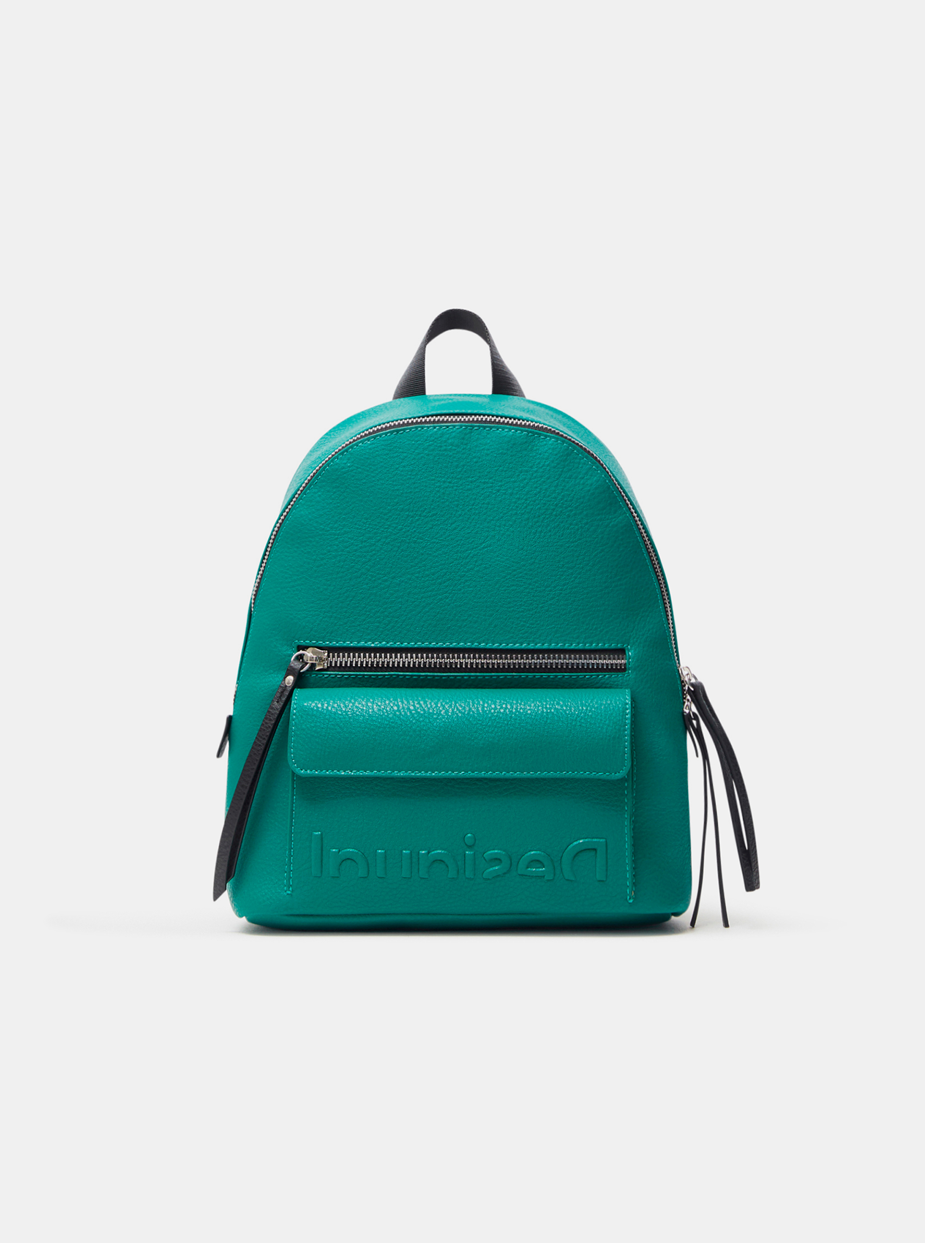 Desigual zelený batoh Embossed Half Mombasa Mini