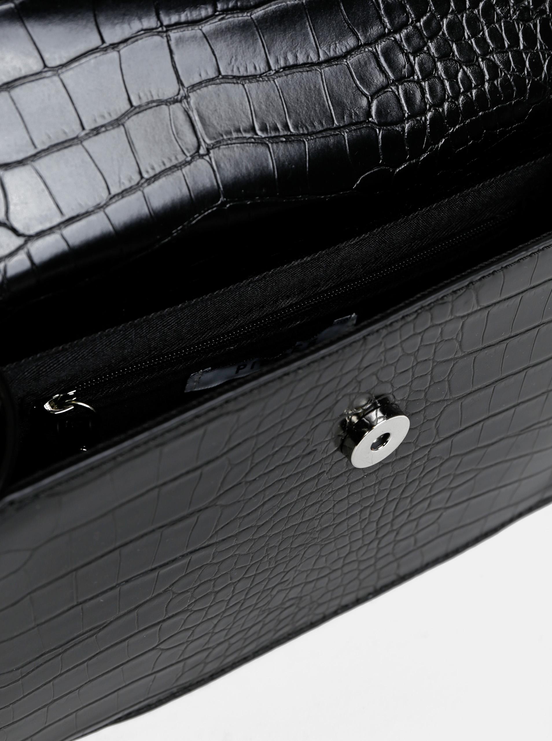 Pieces černá crossbody kabelka Julie