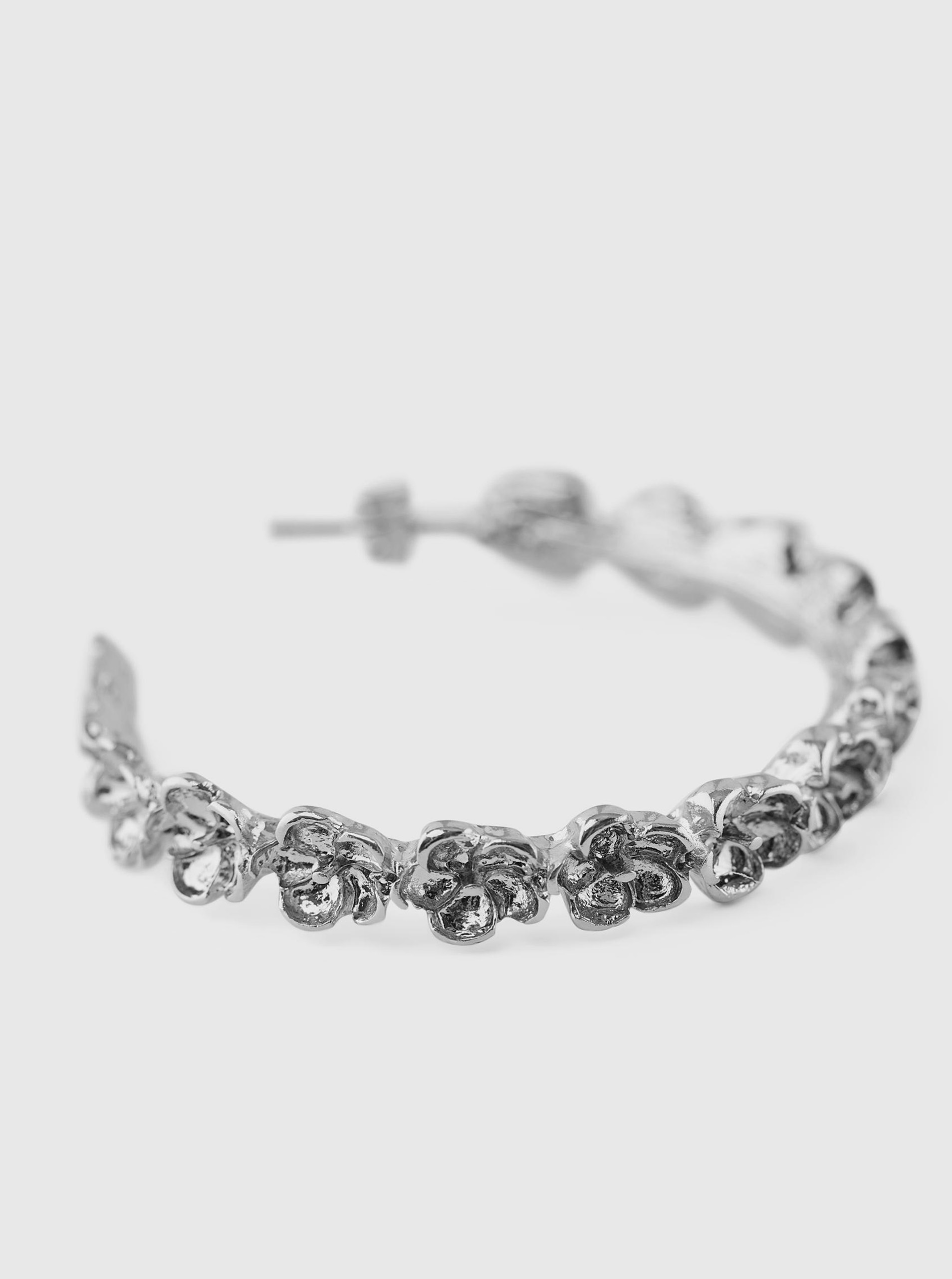 Pieces stříbrné náušnice Timla