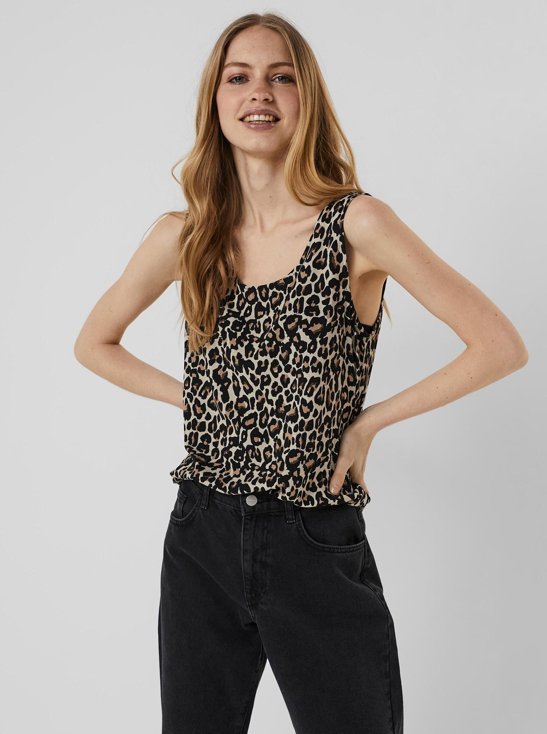 Vero Moda tílko Simply se vzorem