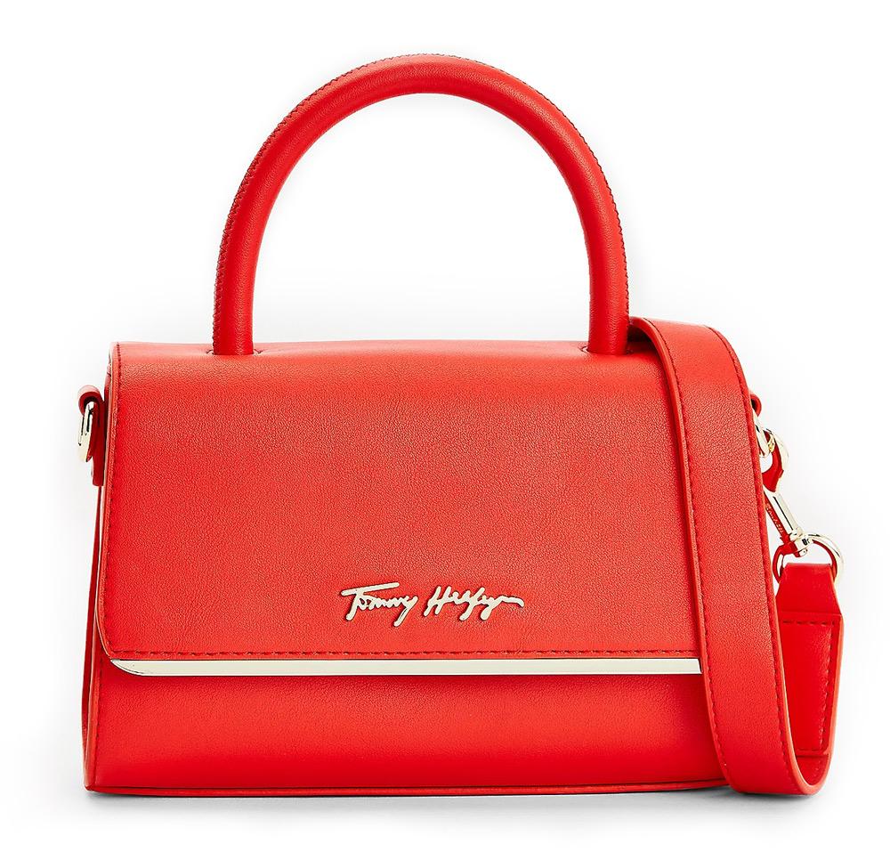 Tommy Hilfiger červené crossbody malá kabelka
