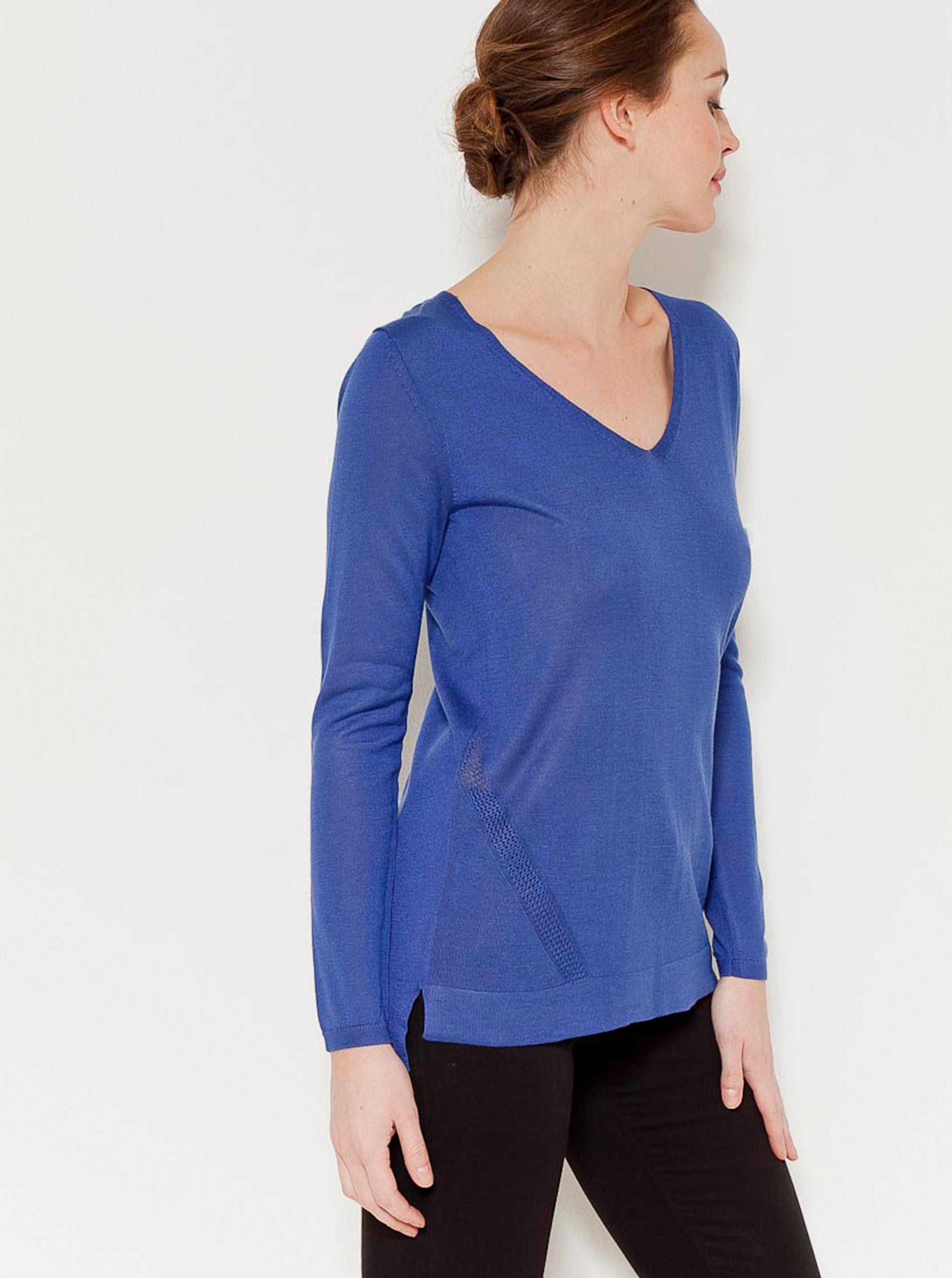 Modré tričko CAMAIEU