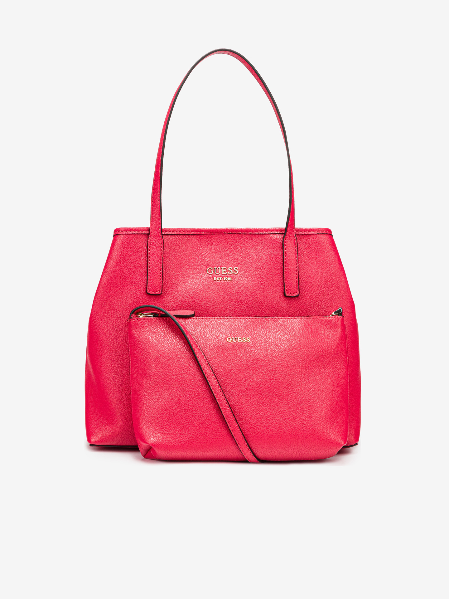 Guess růžové kabelka Vikky
