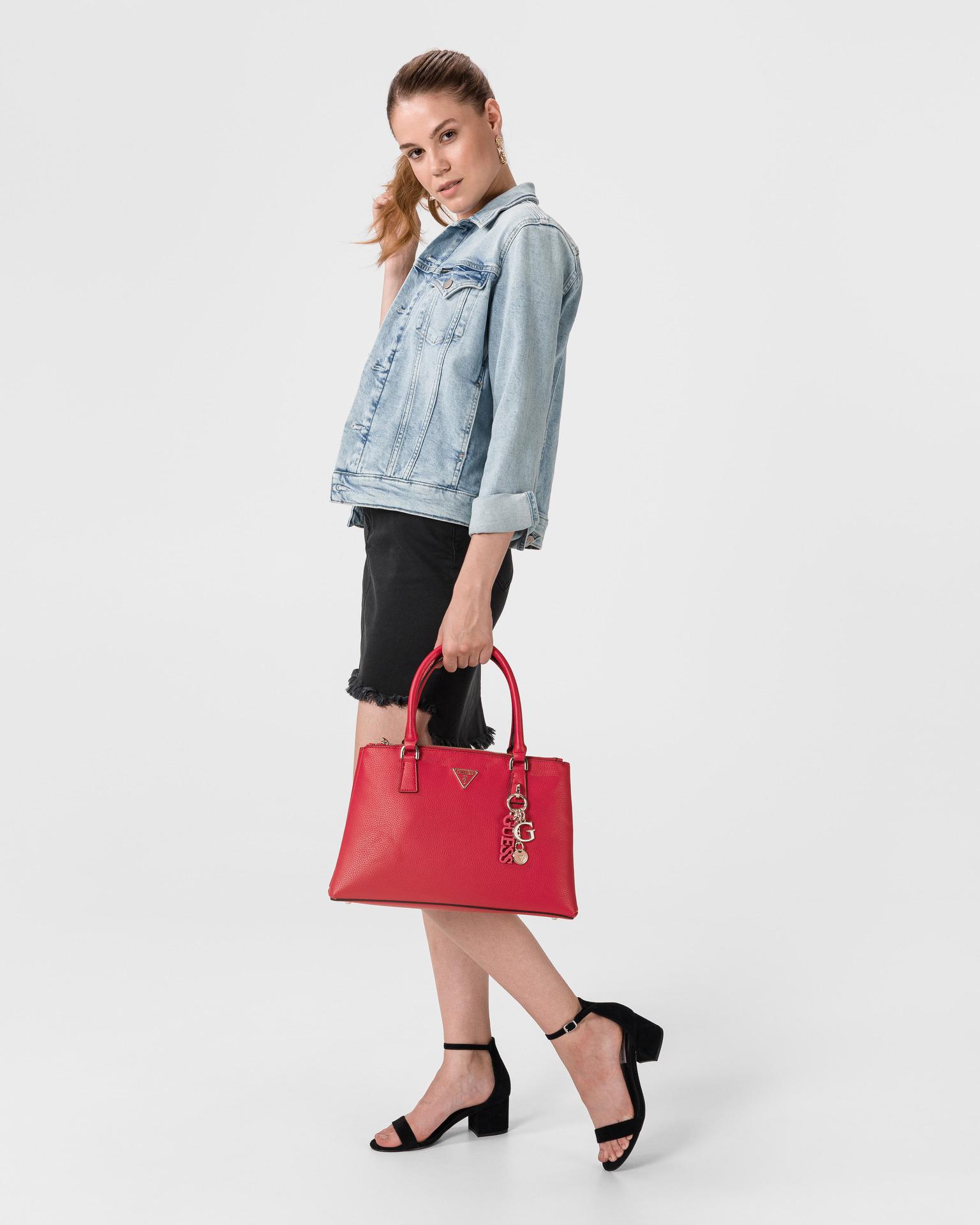 Guess červené kabelka Becca