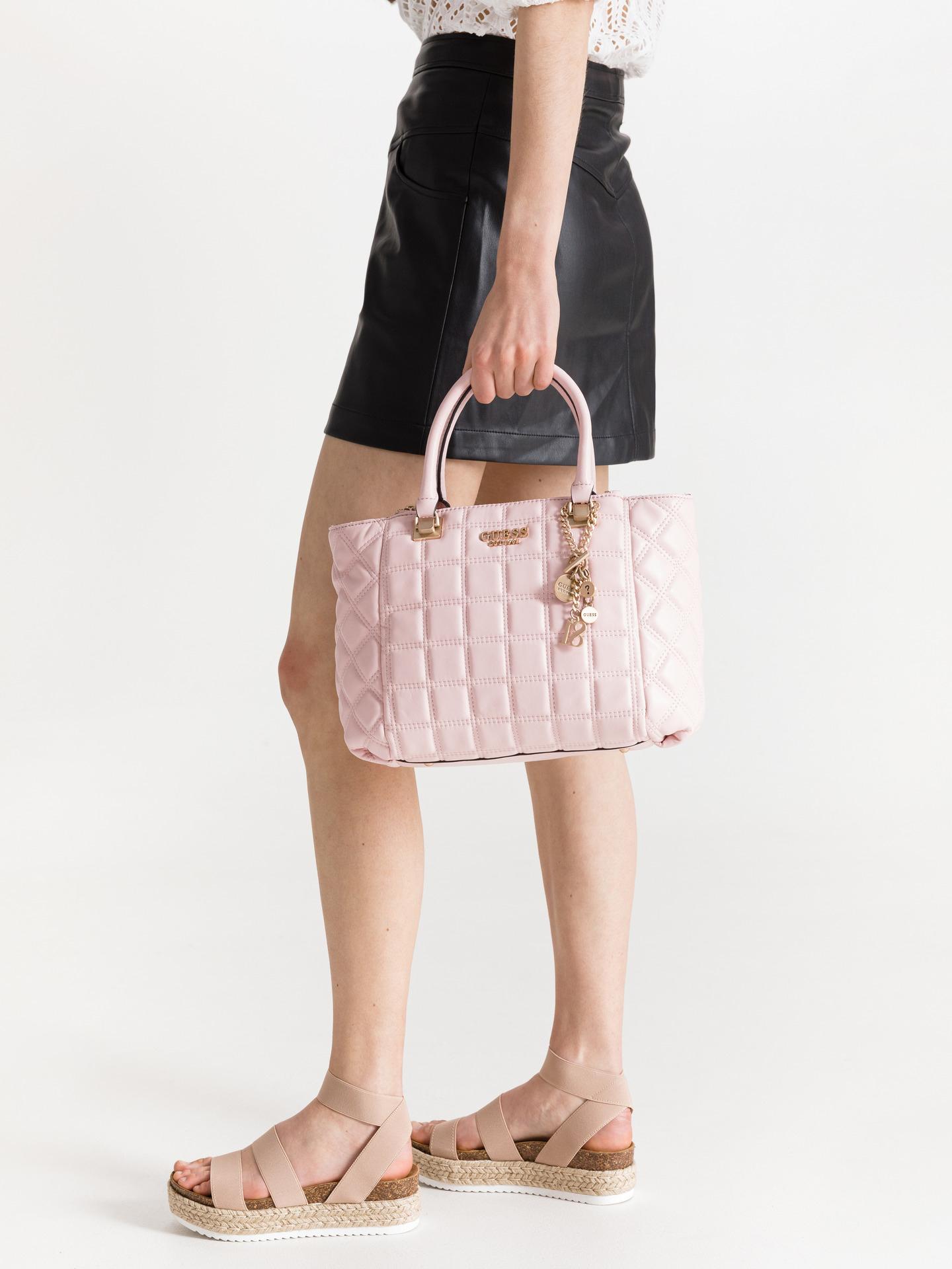 Guess růžové kabelka Kamina Status