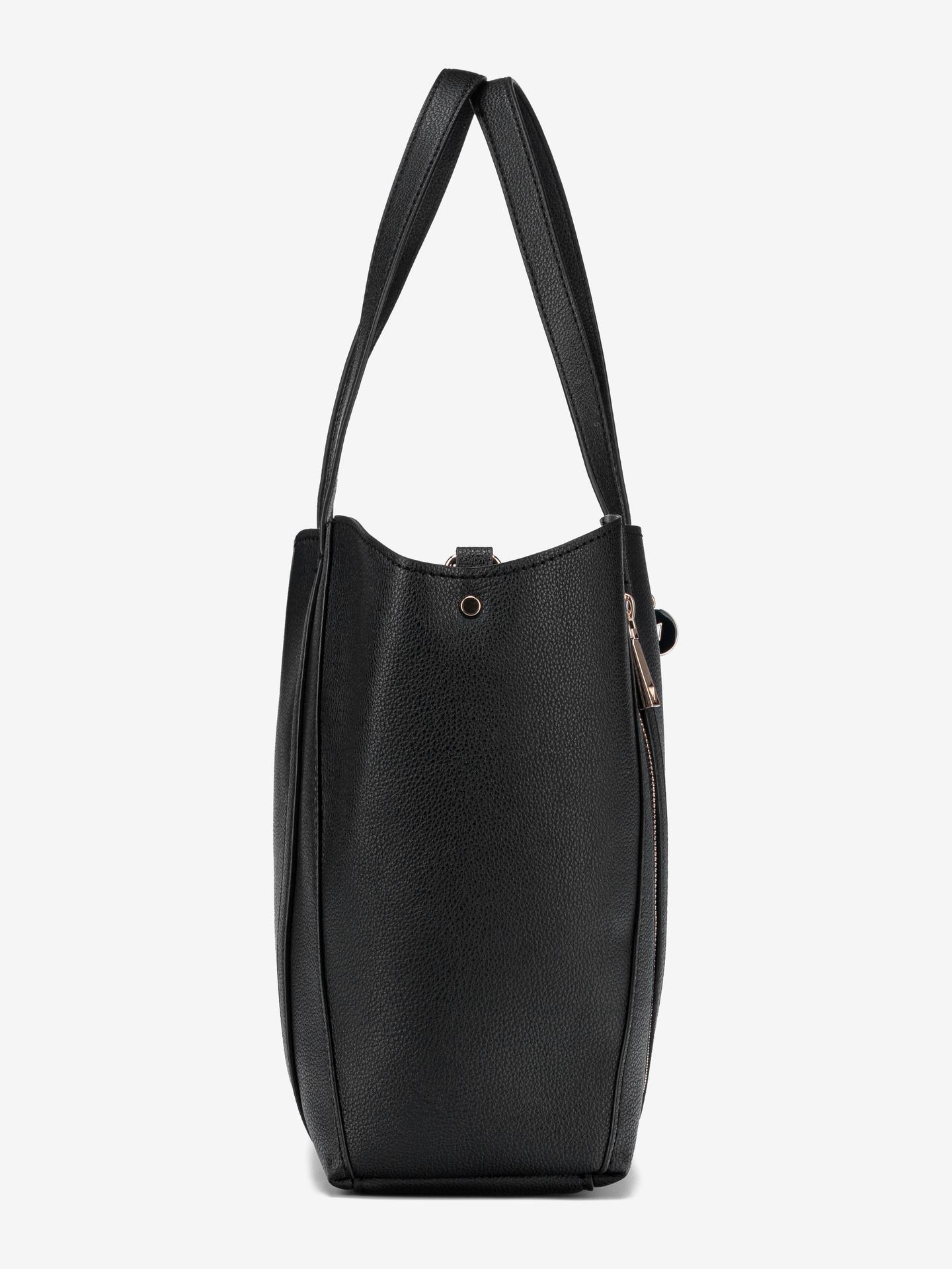 Guess černé kabelka Naya Front Zip