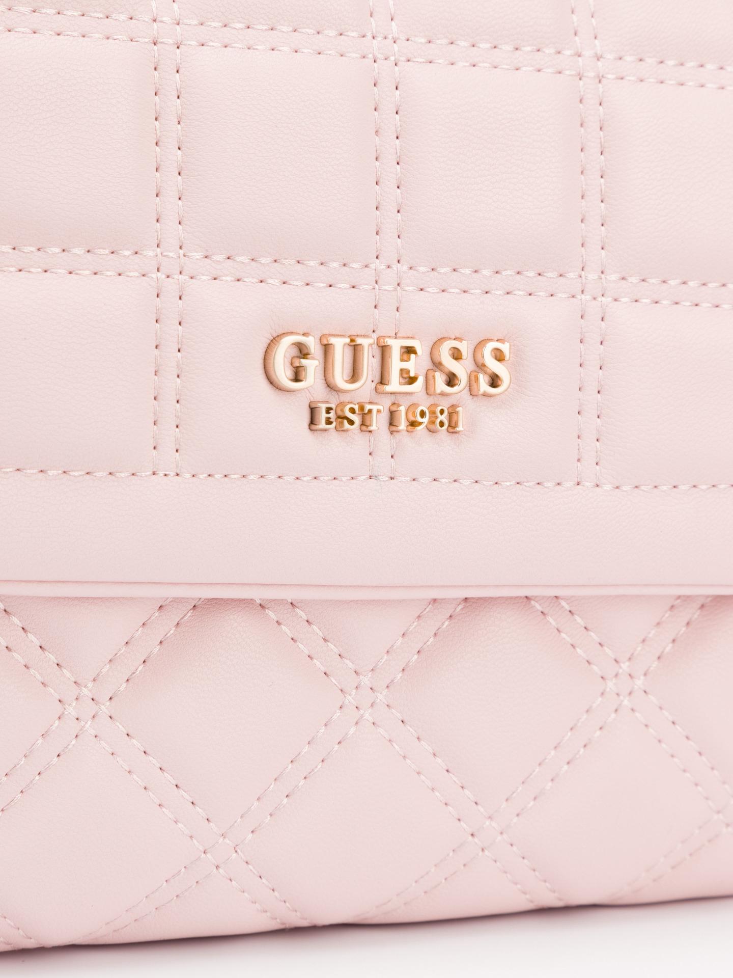 Guess růžové kabelka Kamina