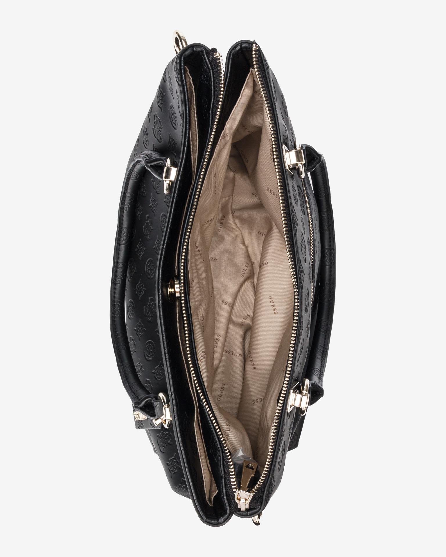 Guess černé kabelka Ninnette Satus Carryall
