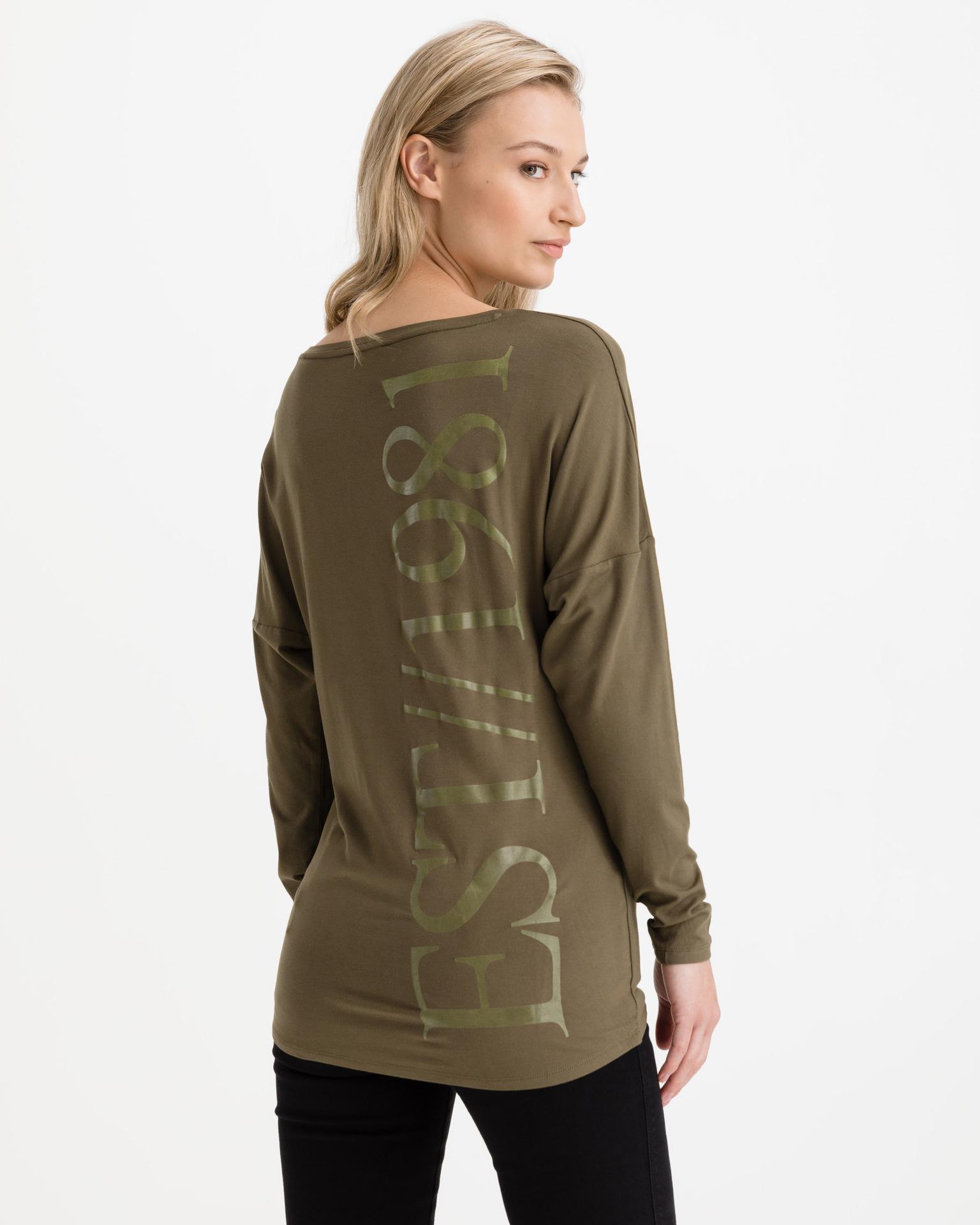 Guess zelené tričko Karolina