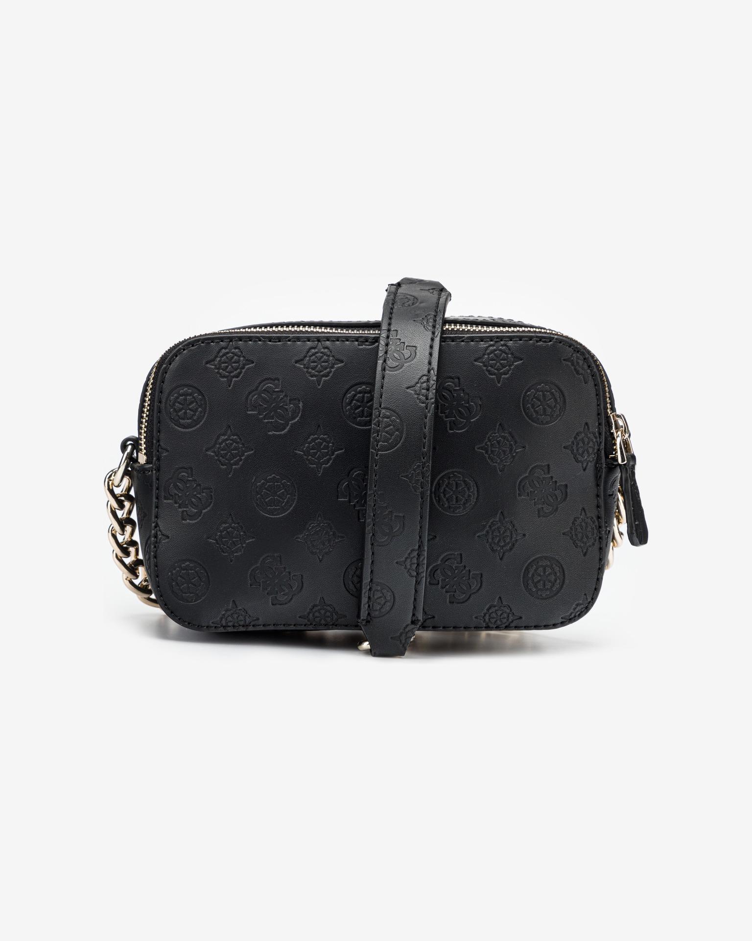 Guess černé crossbody kabelka Noelle