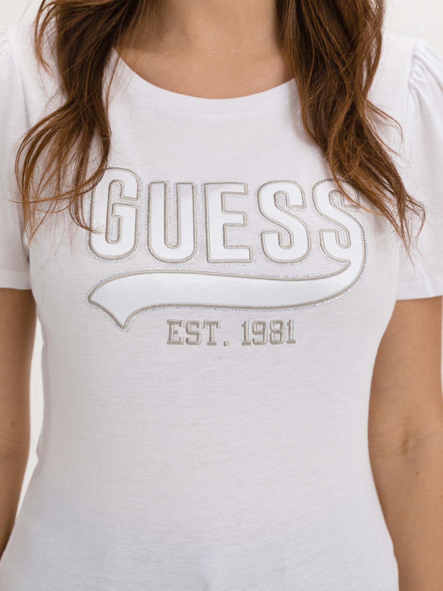 Guess bílé tričko Marisol