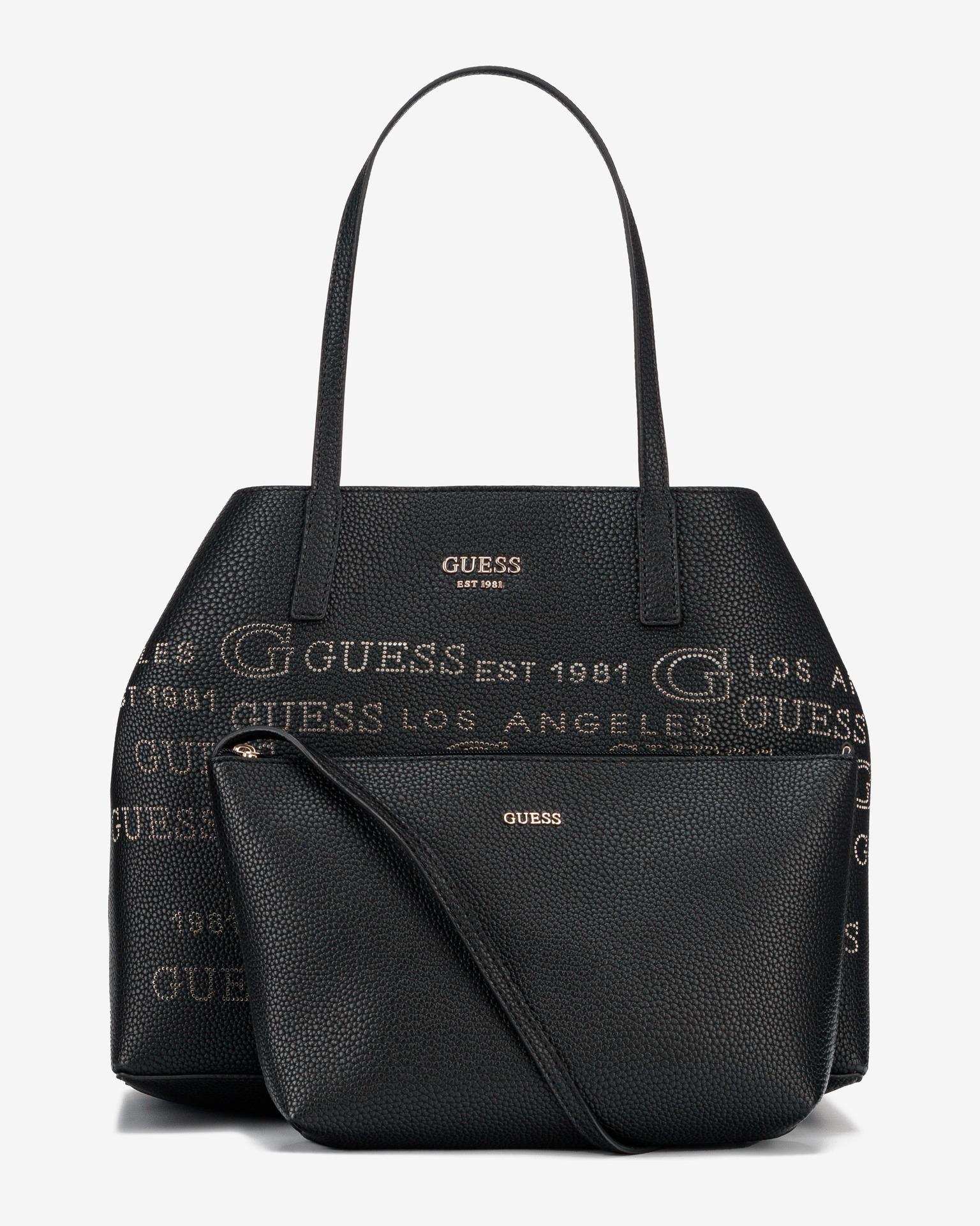 Guess černé kabelka Vikky Large
