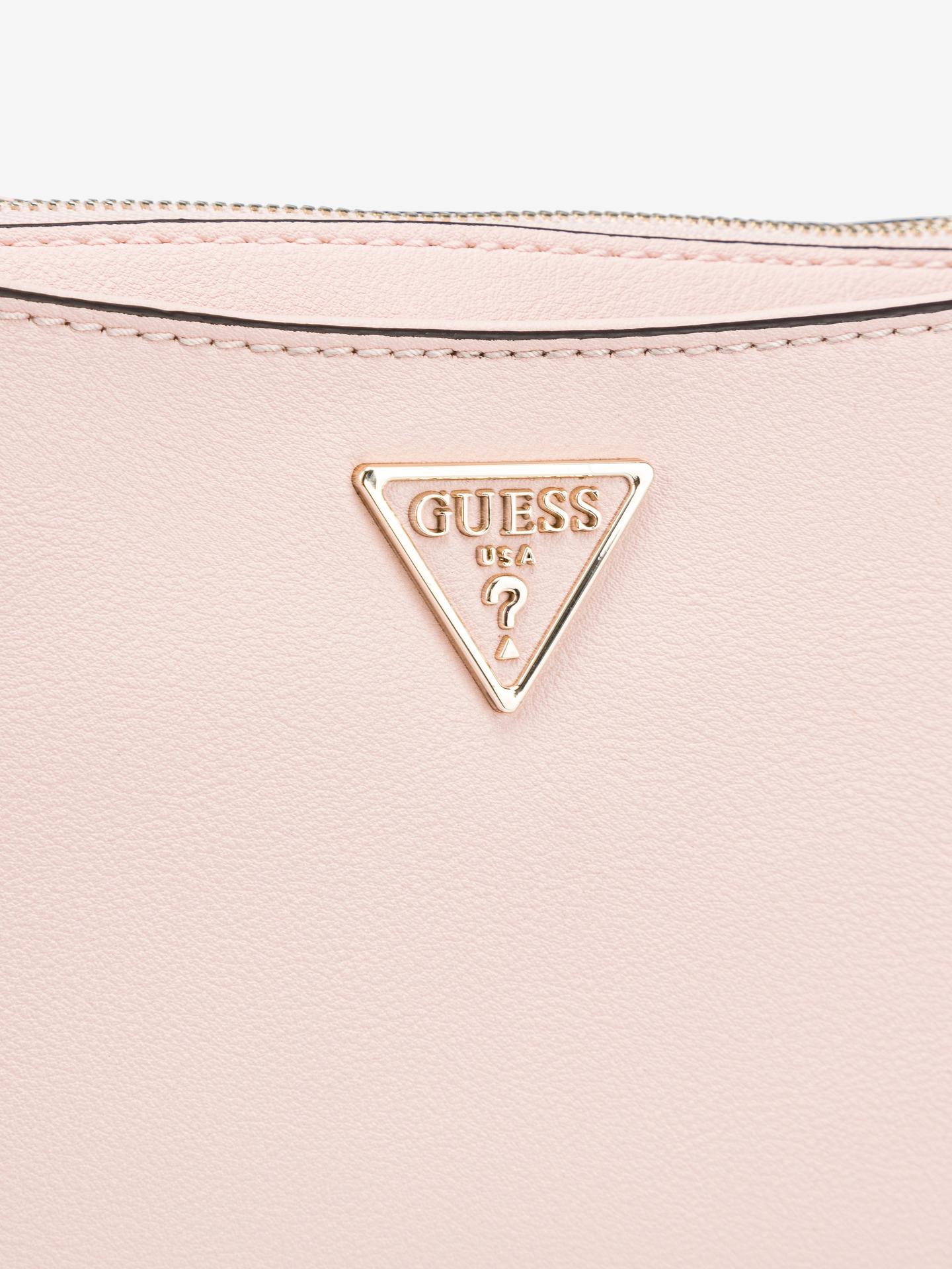 Guess růžové crossbody kabelka Ambrose