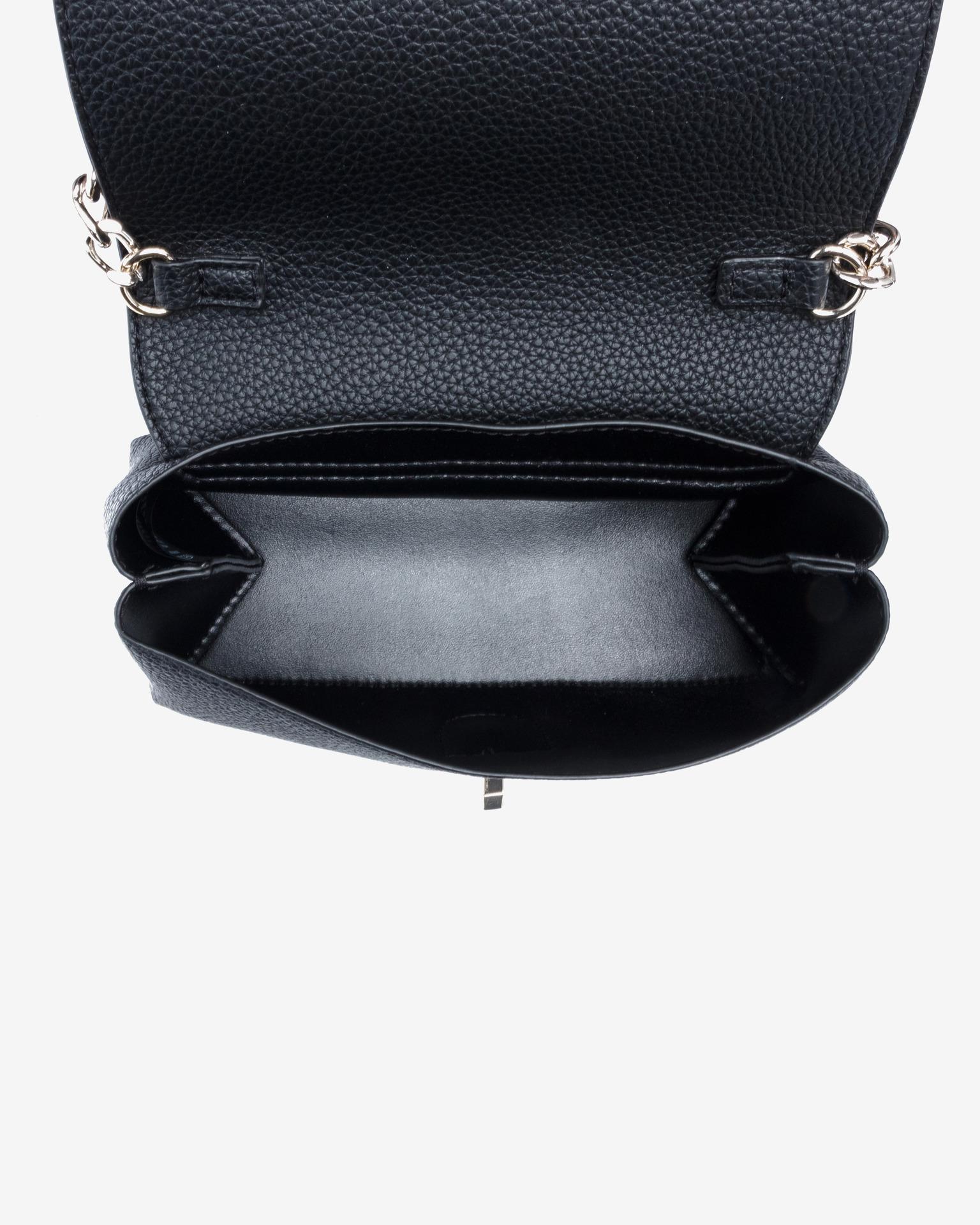 Guess černé crossbody kabelka Uptown Chic Mini