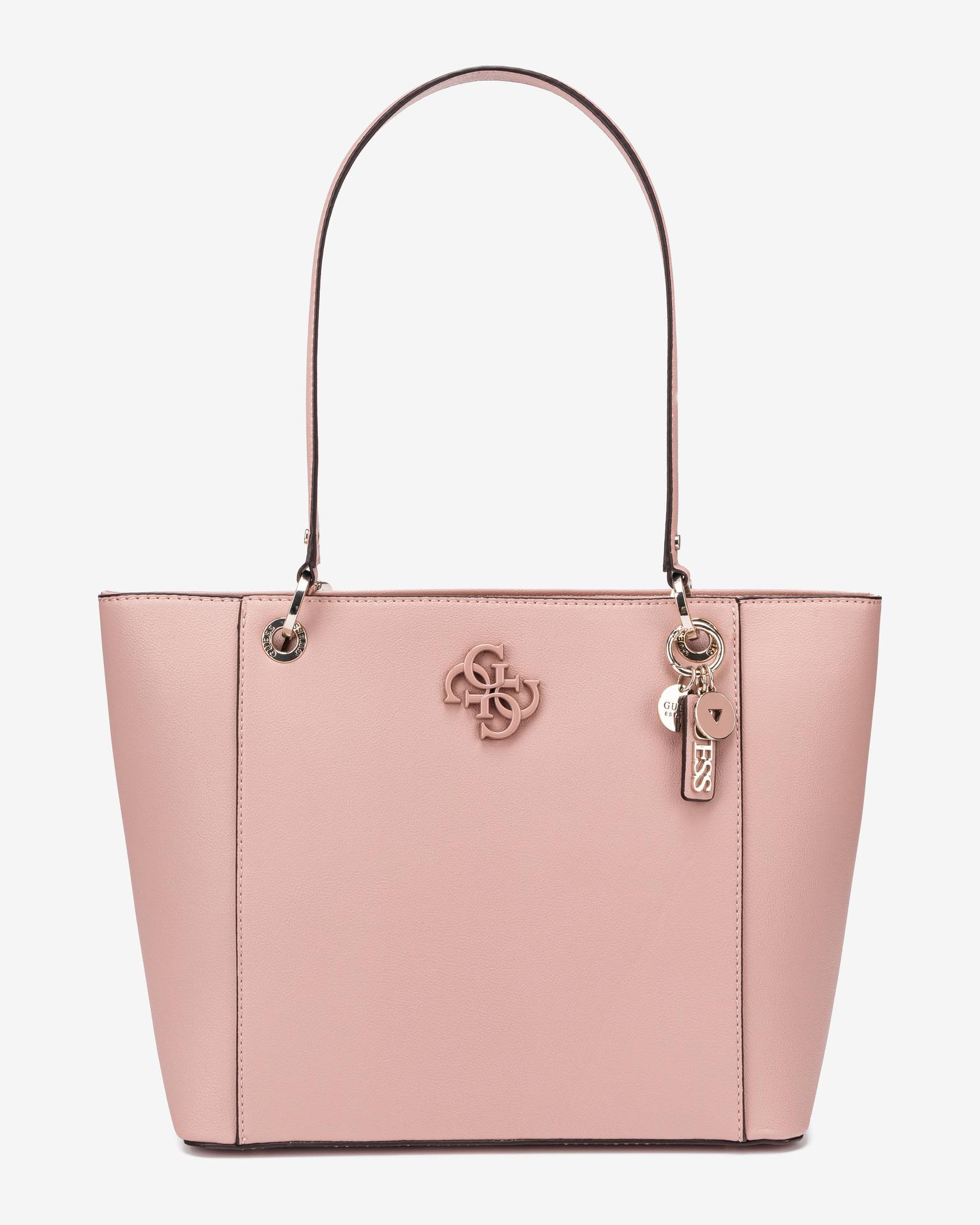 Guess růžové kabelka Noelle