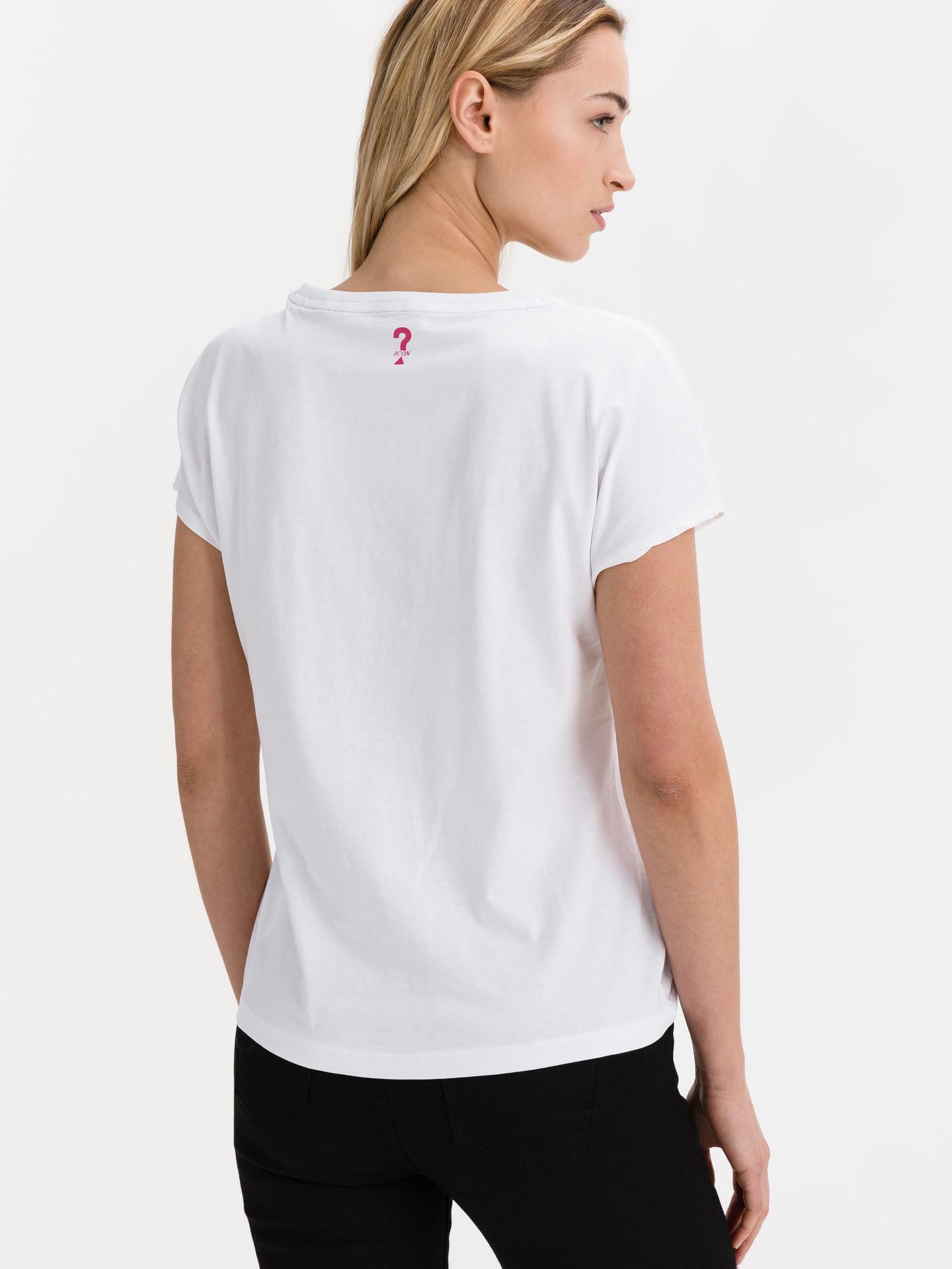 Guess bílé tričko Tonya