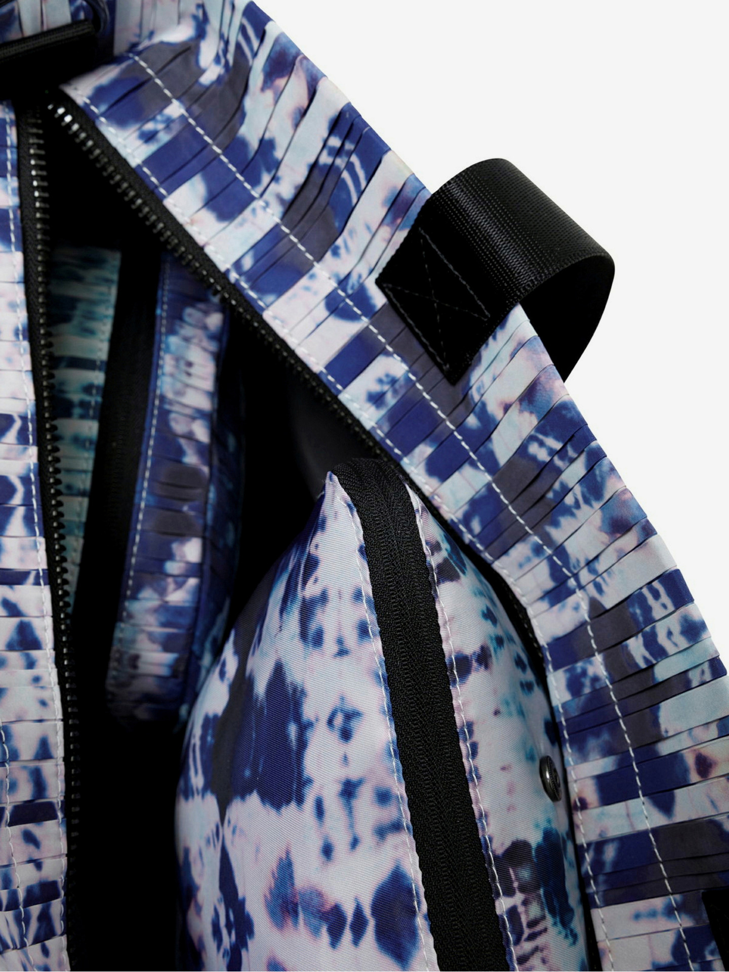 Desigual modré taška Pleats