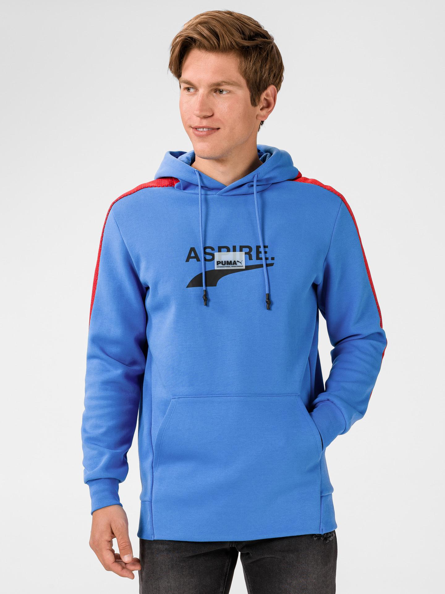Puma modré pánská mikina Avenir - XXL