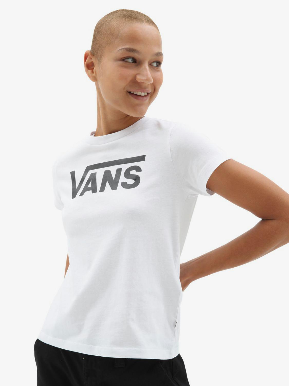 Vans bílé tričko