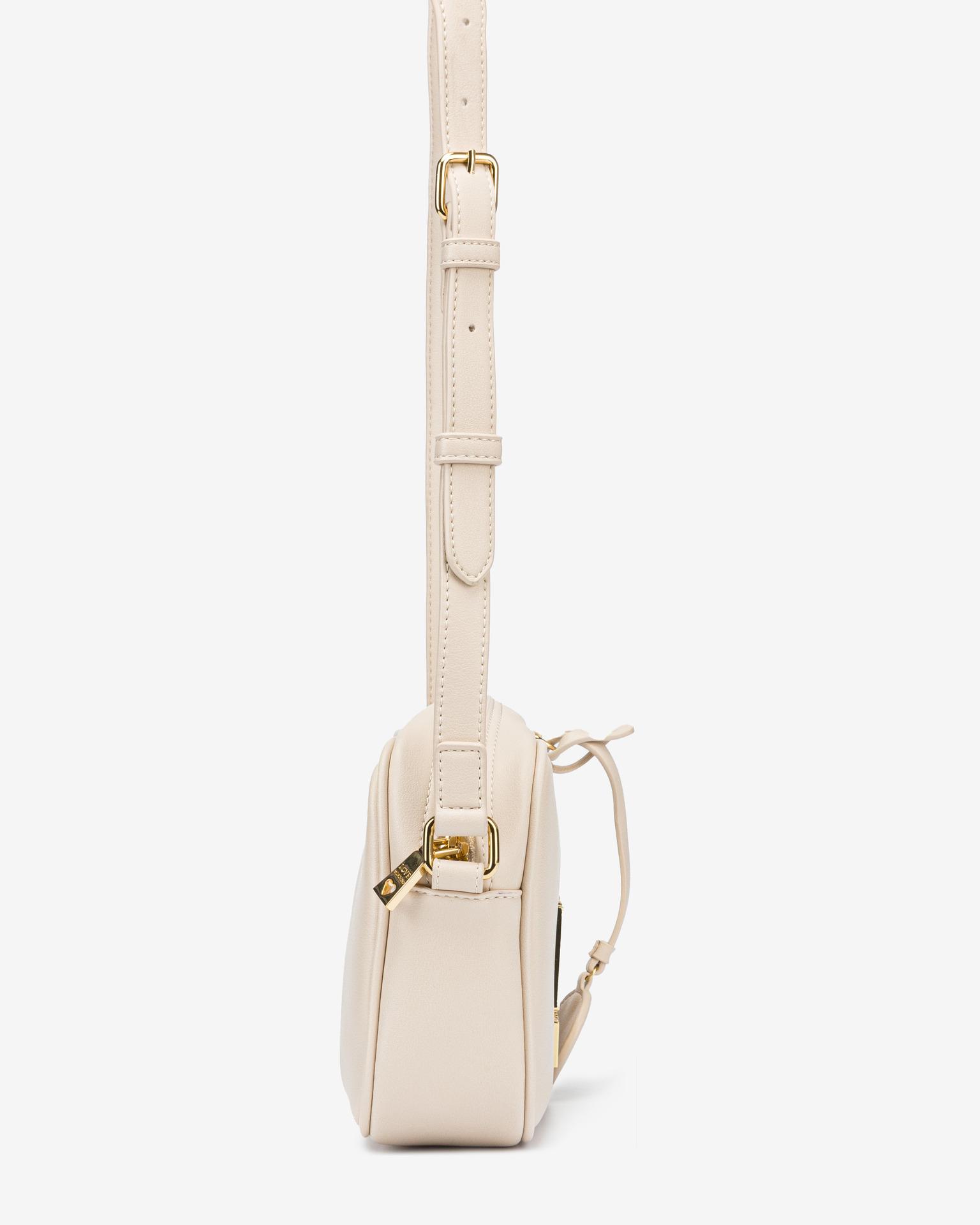 Love Moschino bílé crossbody kabelka